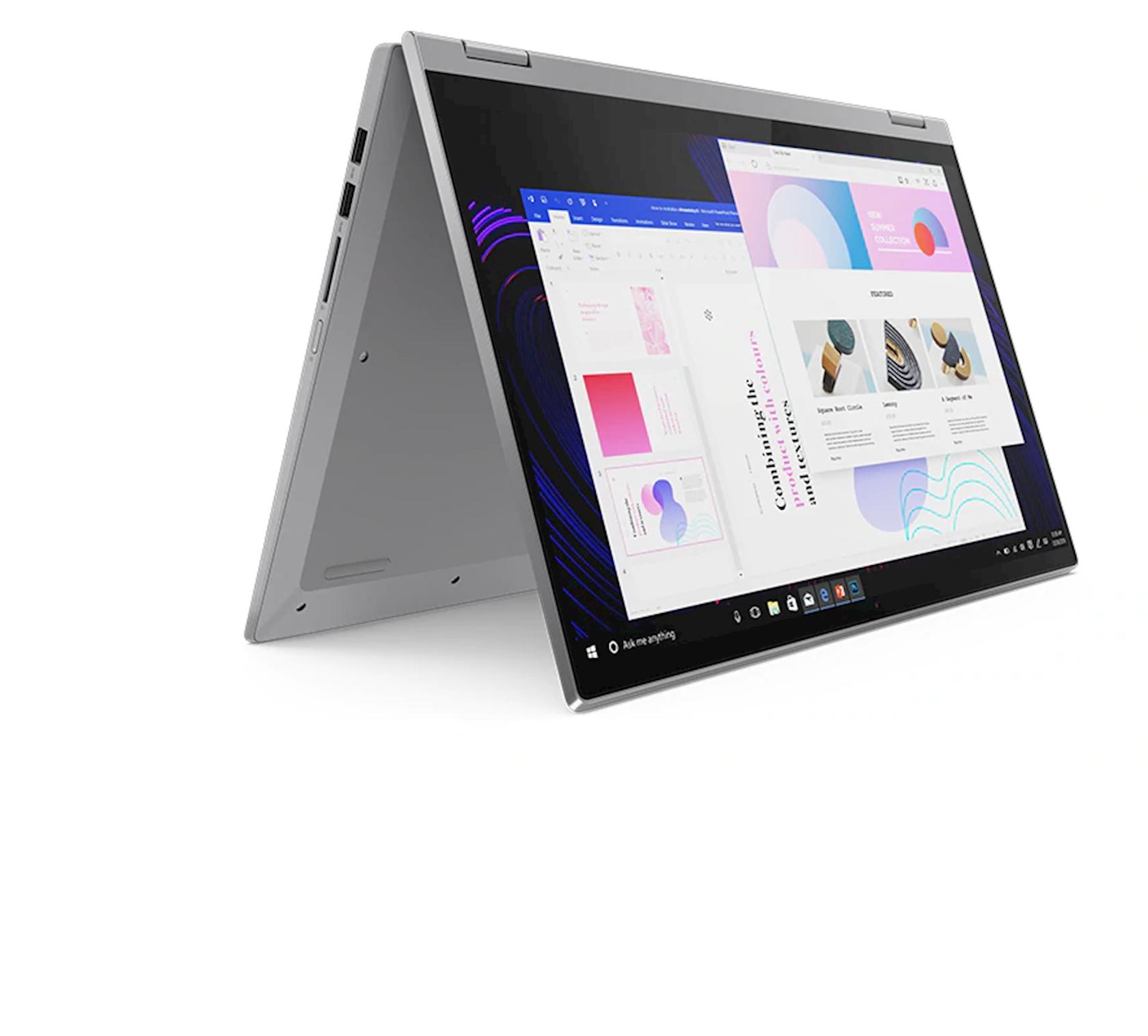 Noutbuk Lenovo Flex 5 15IIL05 (81X30095RK-N) Grey