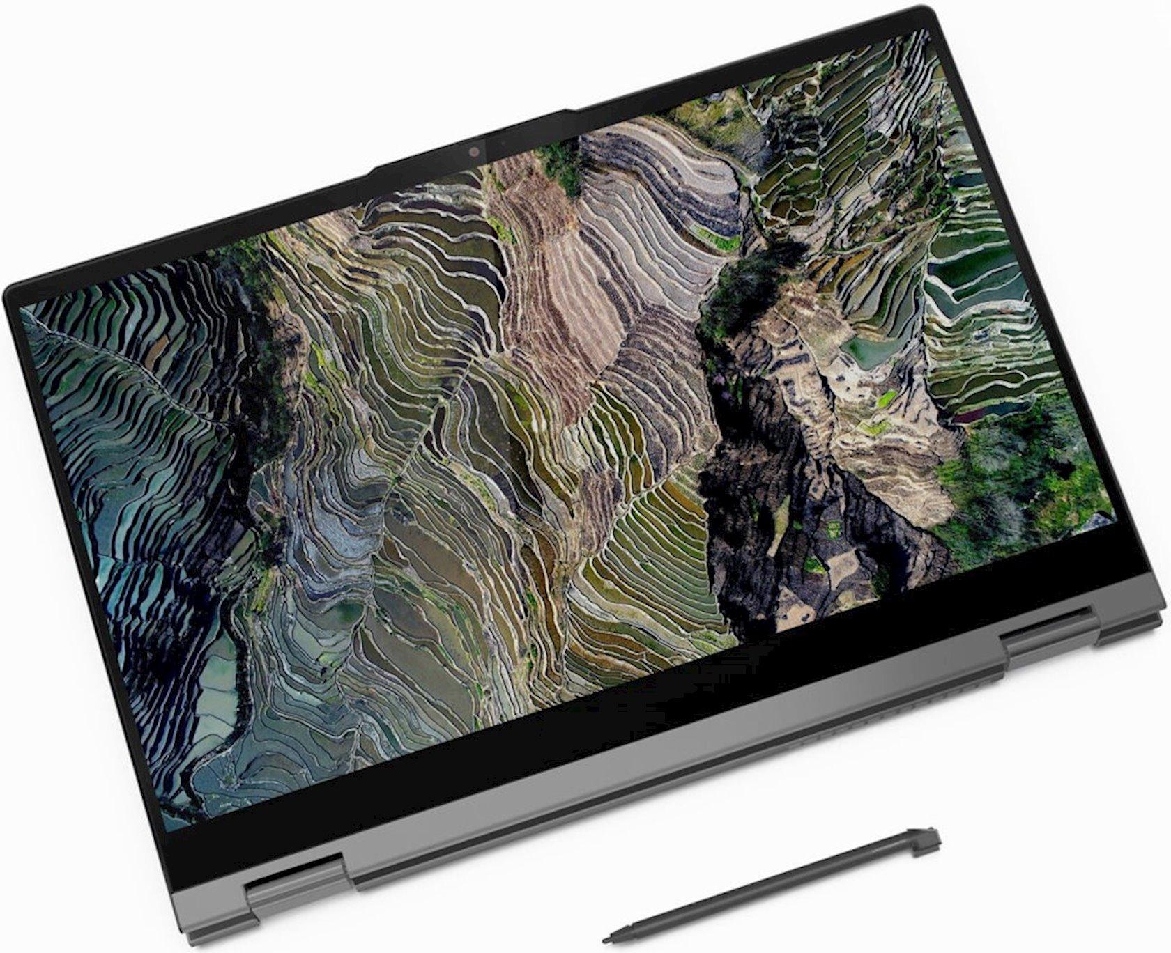 Noutbuk Lenovo ThinkBook 14s Yoga ITL (20WE0031RU) Grey