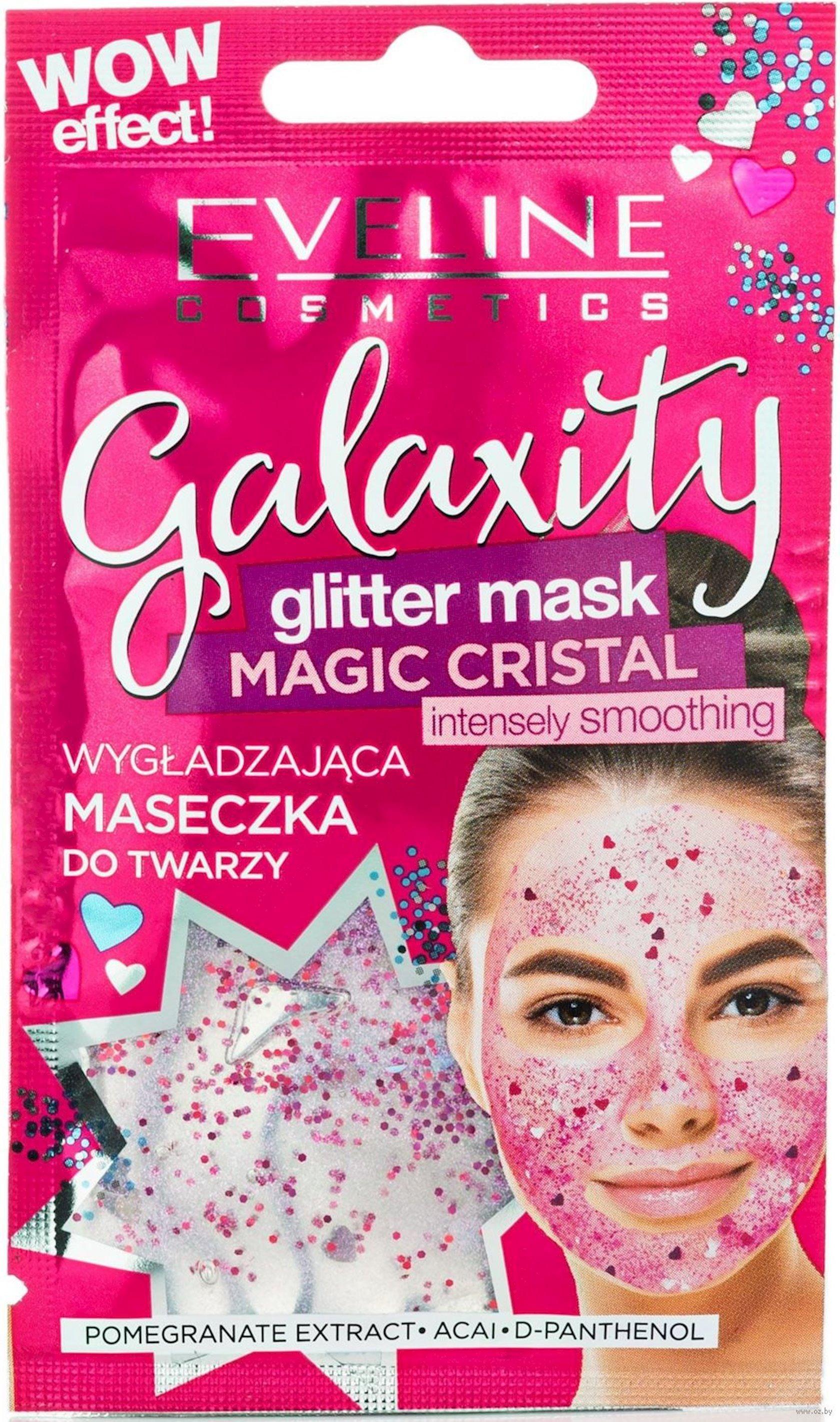 Gel-maska Eveline Cosmetics Galaxity parıltılı