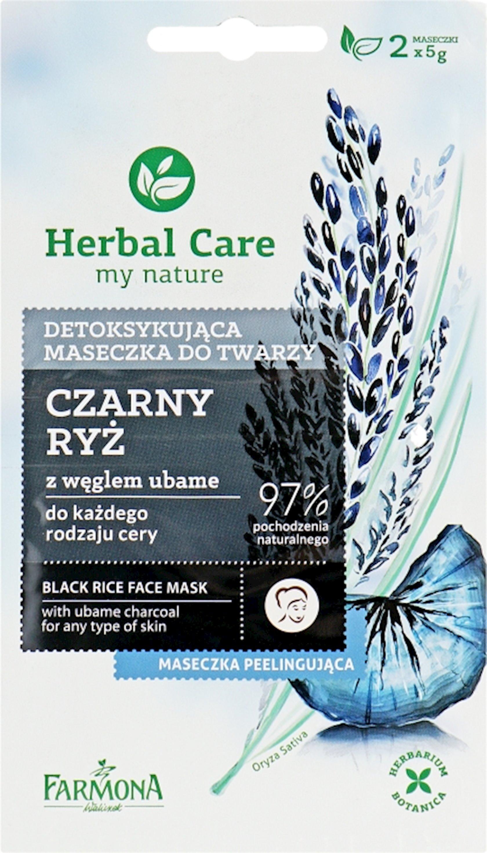 Maska üz üçün Farmona Herbal Care Black Rice