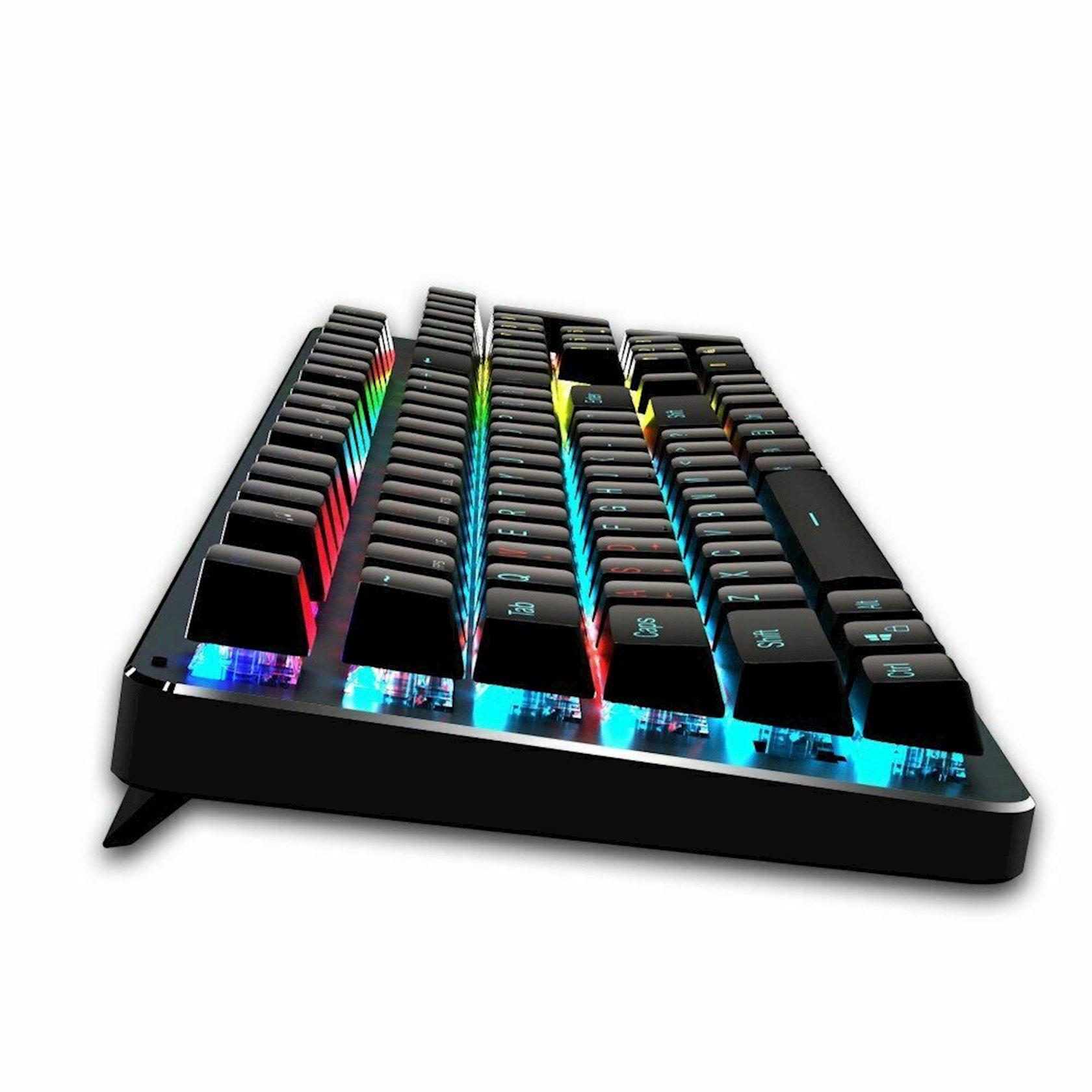 LED mexaniki oyun klaviaturası Meetion MK007