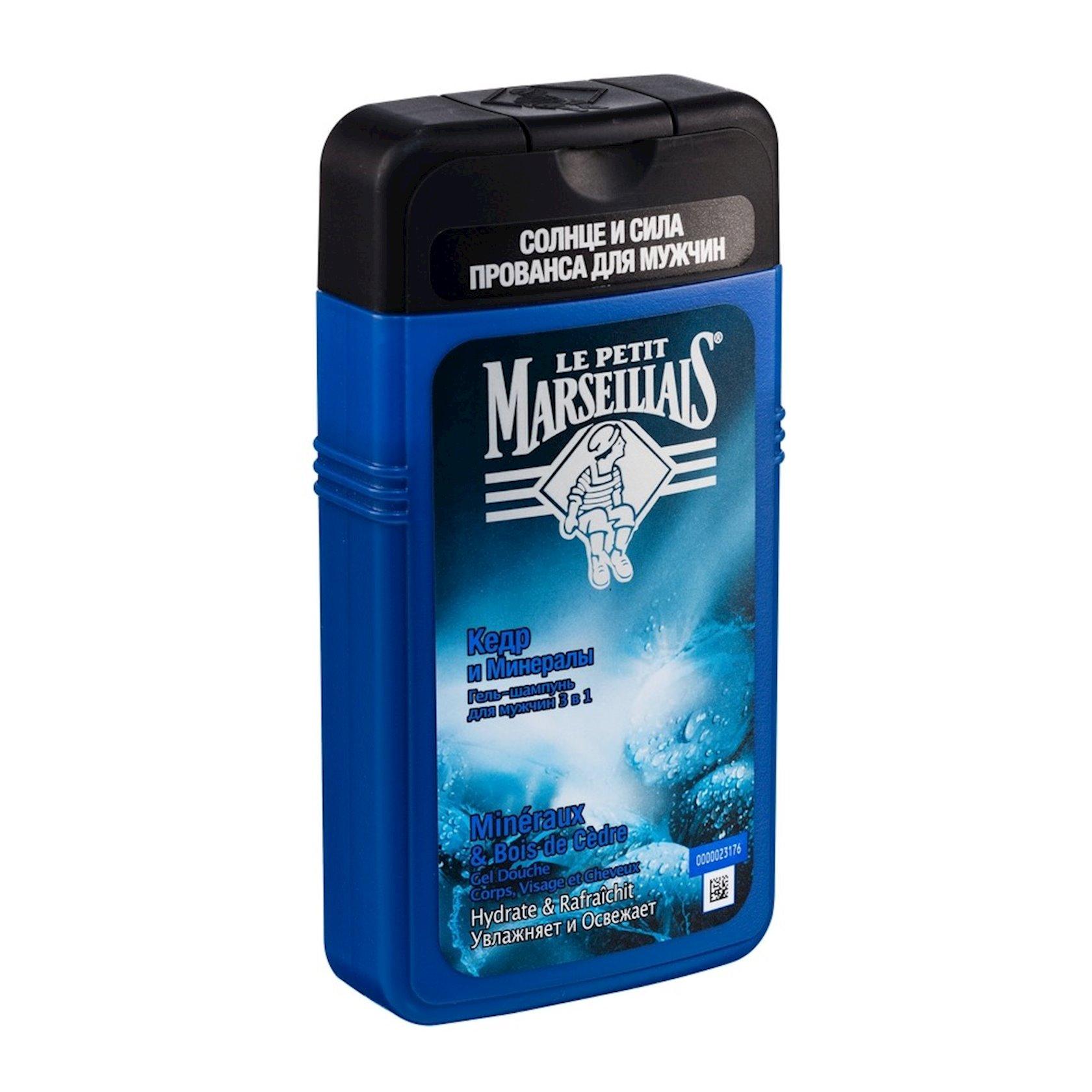 Duş üçün gel Le Petit Marseillais Sedir və Minerallar 250 ml