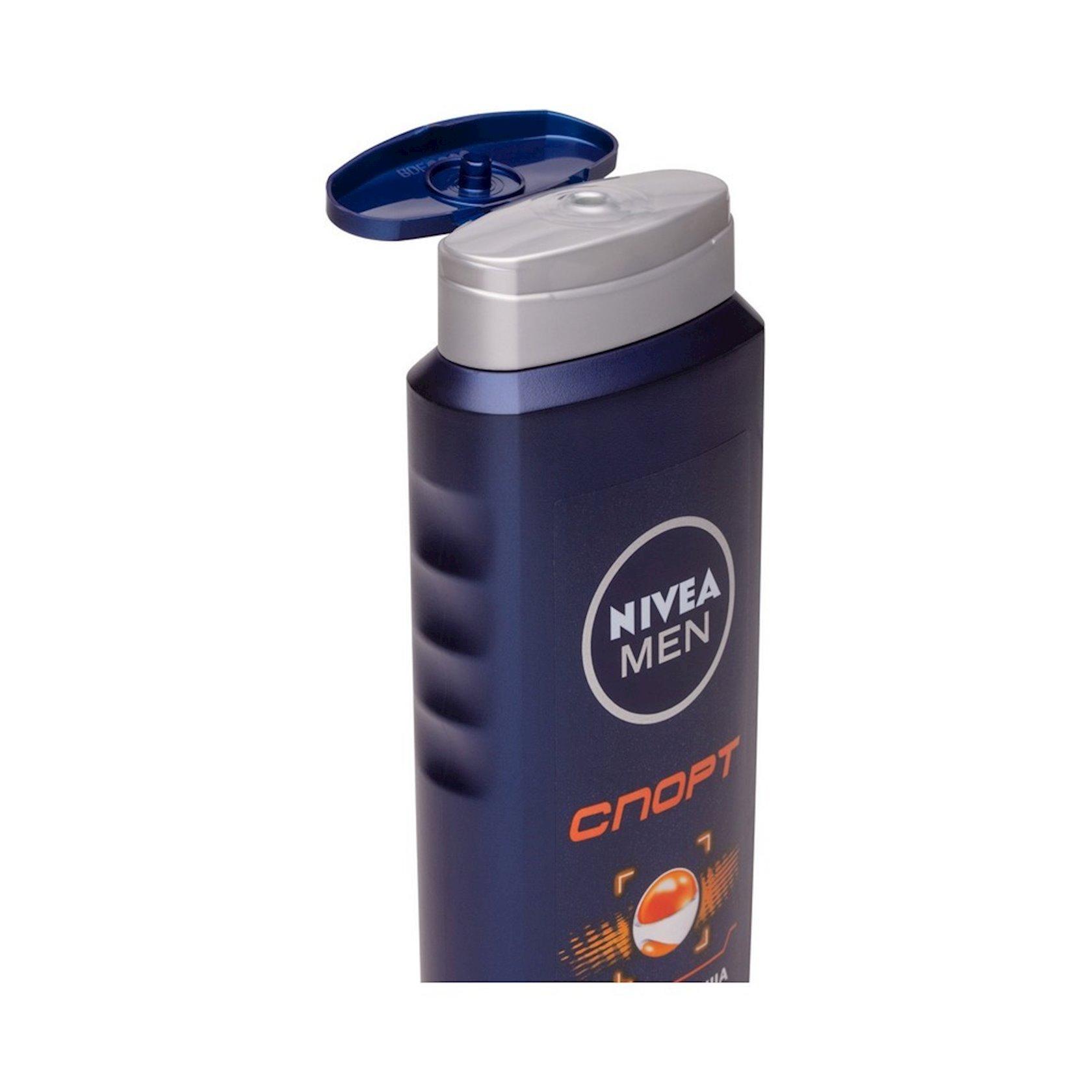 Duş üçün gel Nivea Men Sport 250 ml