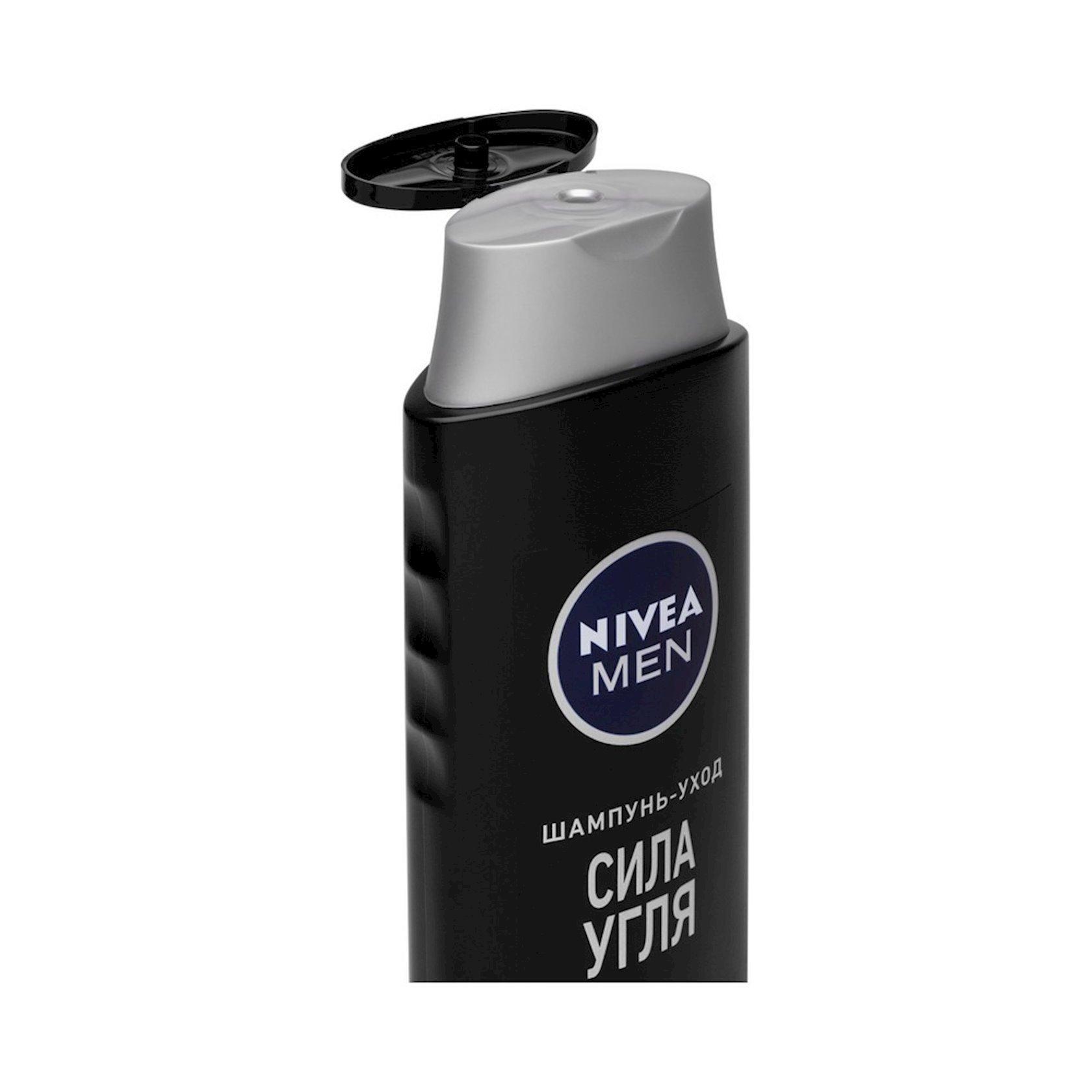 Duş üçün gel  Nivea Kömürün gücü, 500 ml