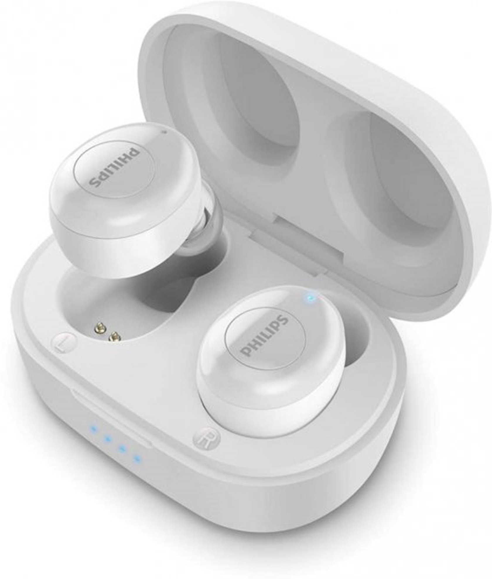 Simsiz qulaqlıq Philips TAT2205 True Wireless Mic White (TAT2205WT/00)