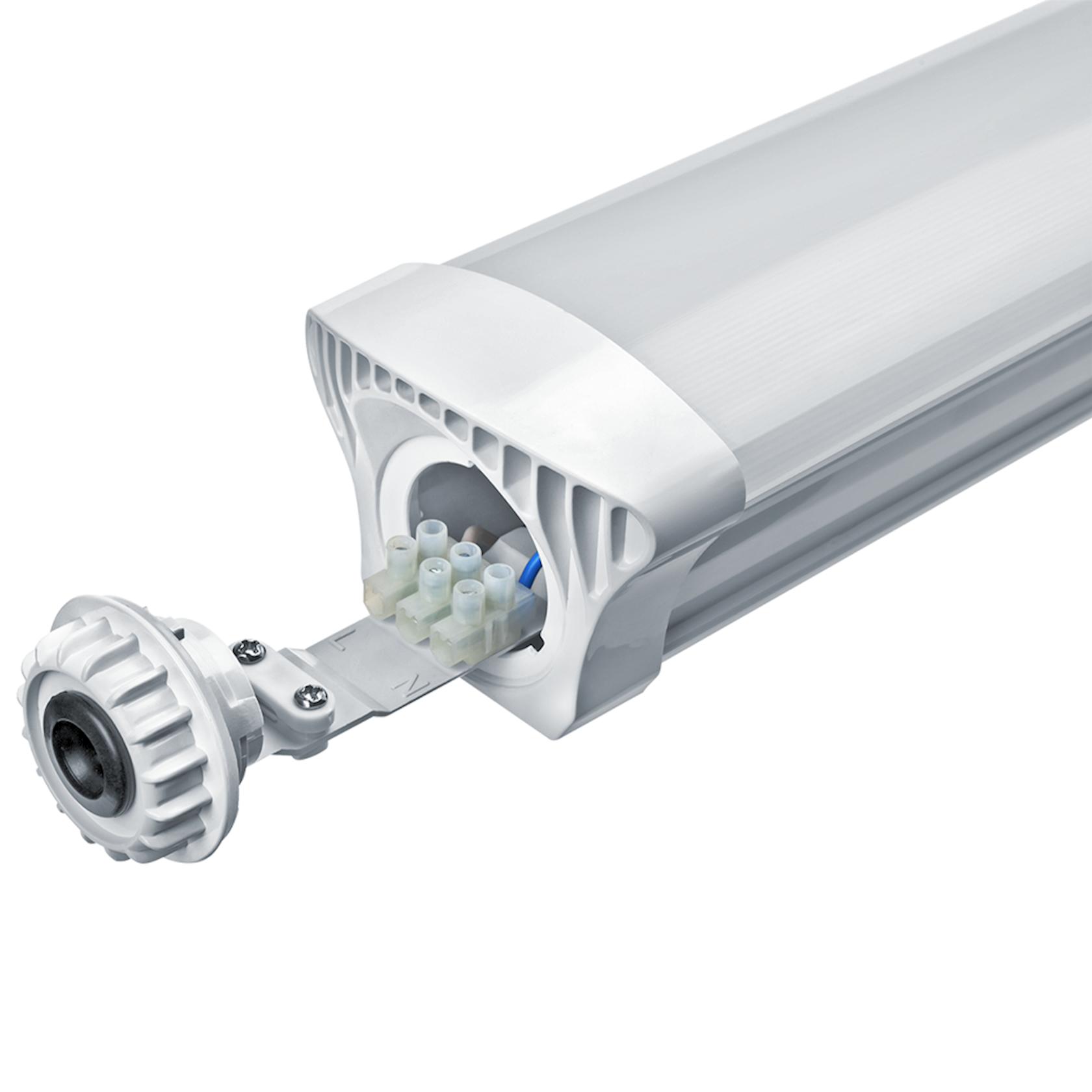 LED çıraq Navigator DSP-CC-18-6.5K-IP65-LED-R, 18Vt, ağ rəng, ölçü 600x80x64mm