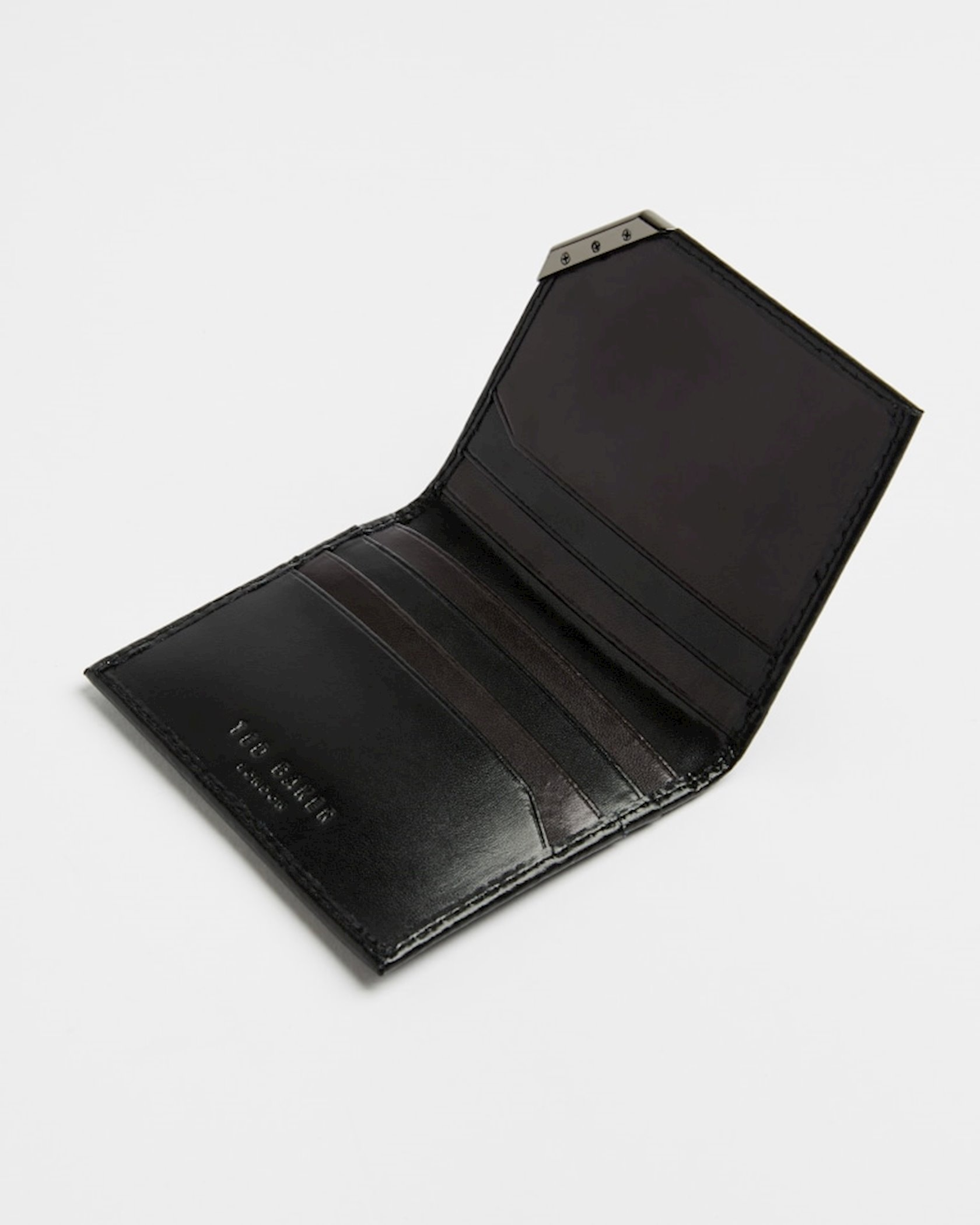 Kişilər üçün dəri pulqabı Ted Baker Coral 247143, Black
