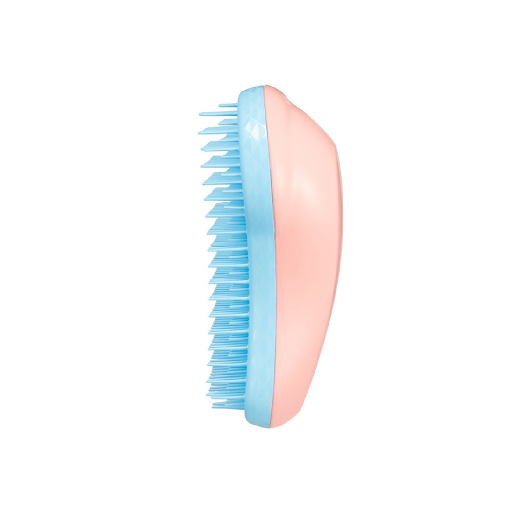 Saç fırçası Tangle Teezer Fine & Fraglie Peach Sky Yığcam
