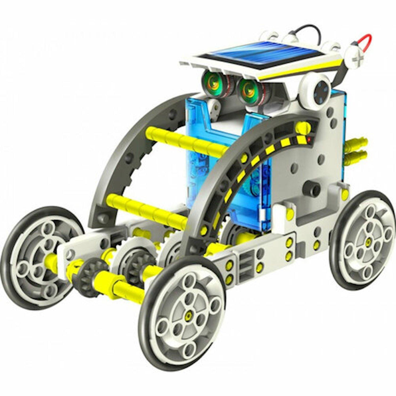 Robot konstruktor Same Toy Multibot 14-də 1 günəş enerjisi ilə işləyir,8+ yaş