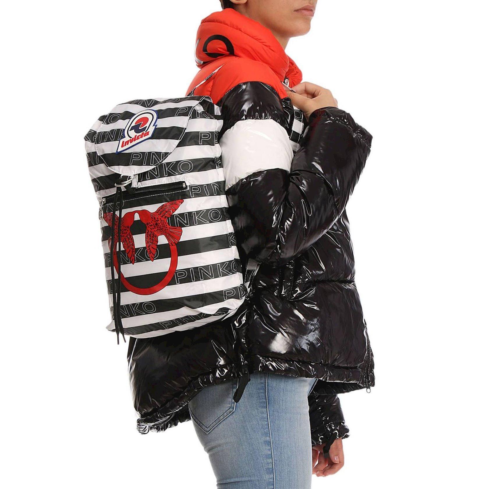 Bel çantası Pinko 1I2001-Y4TA Mini Sac In Love, parça, 25x38x9sm, Ağ