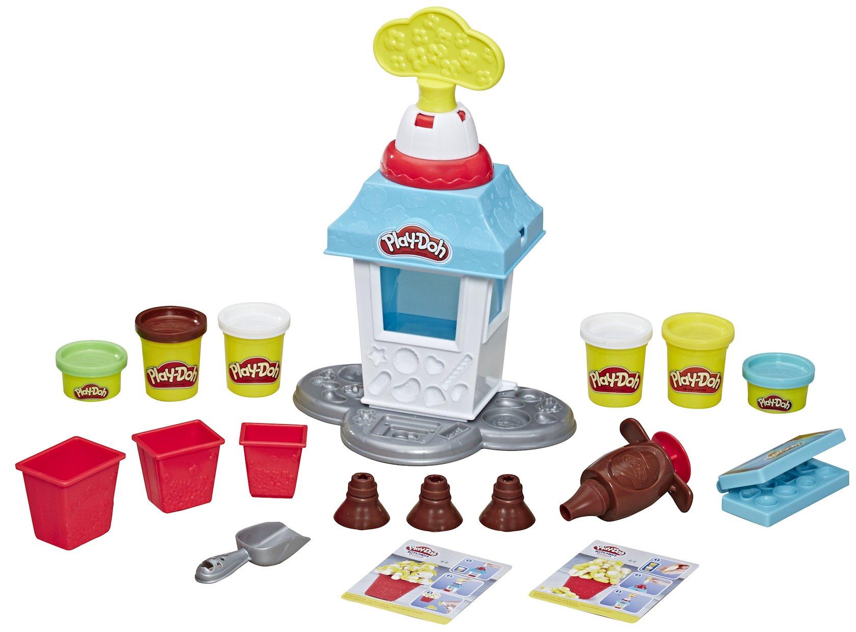 Oyun dəsti asbro Play-Doh Popkorn-Axşam qonaqlığı