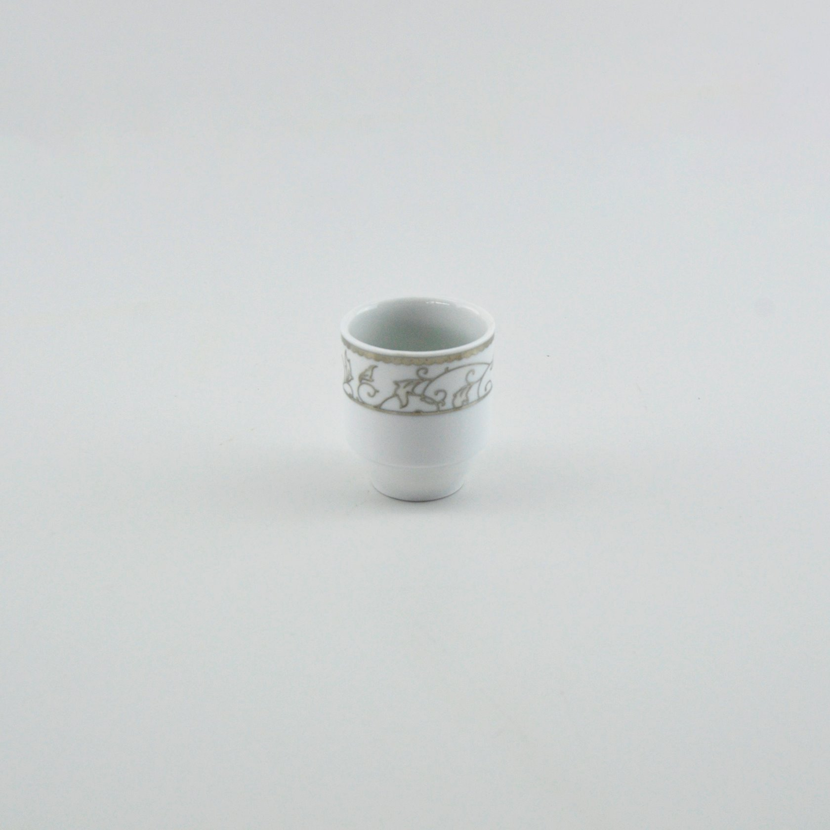 Qab dəsti Kütahya Porselen KCRN87YT90110832, şüşə, ağ