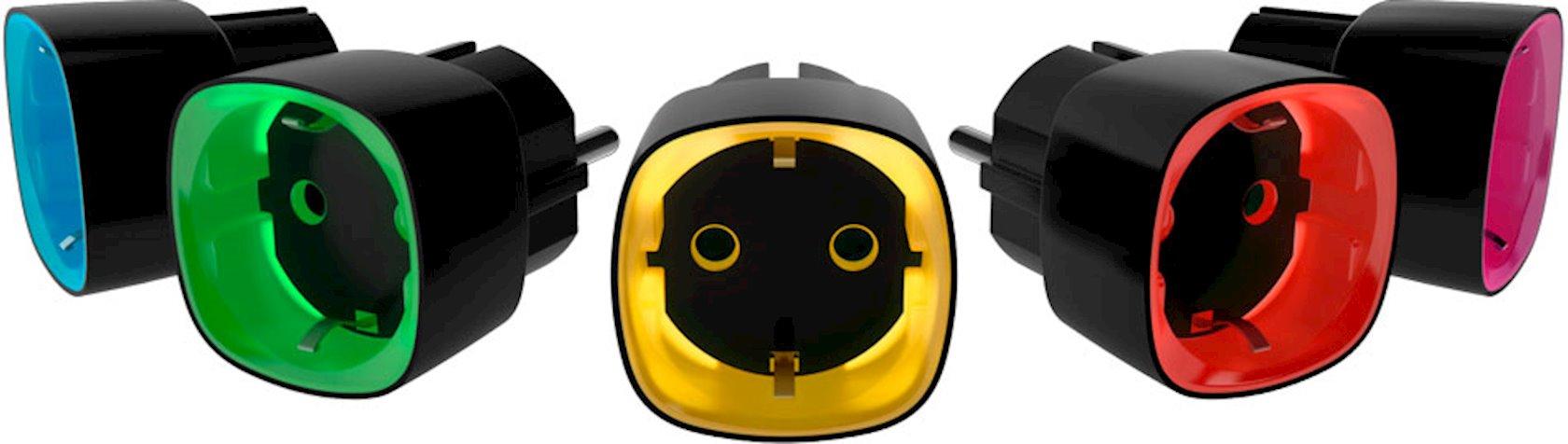 Ağıllı rozetka Ajax Socket Black