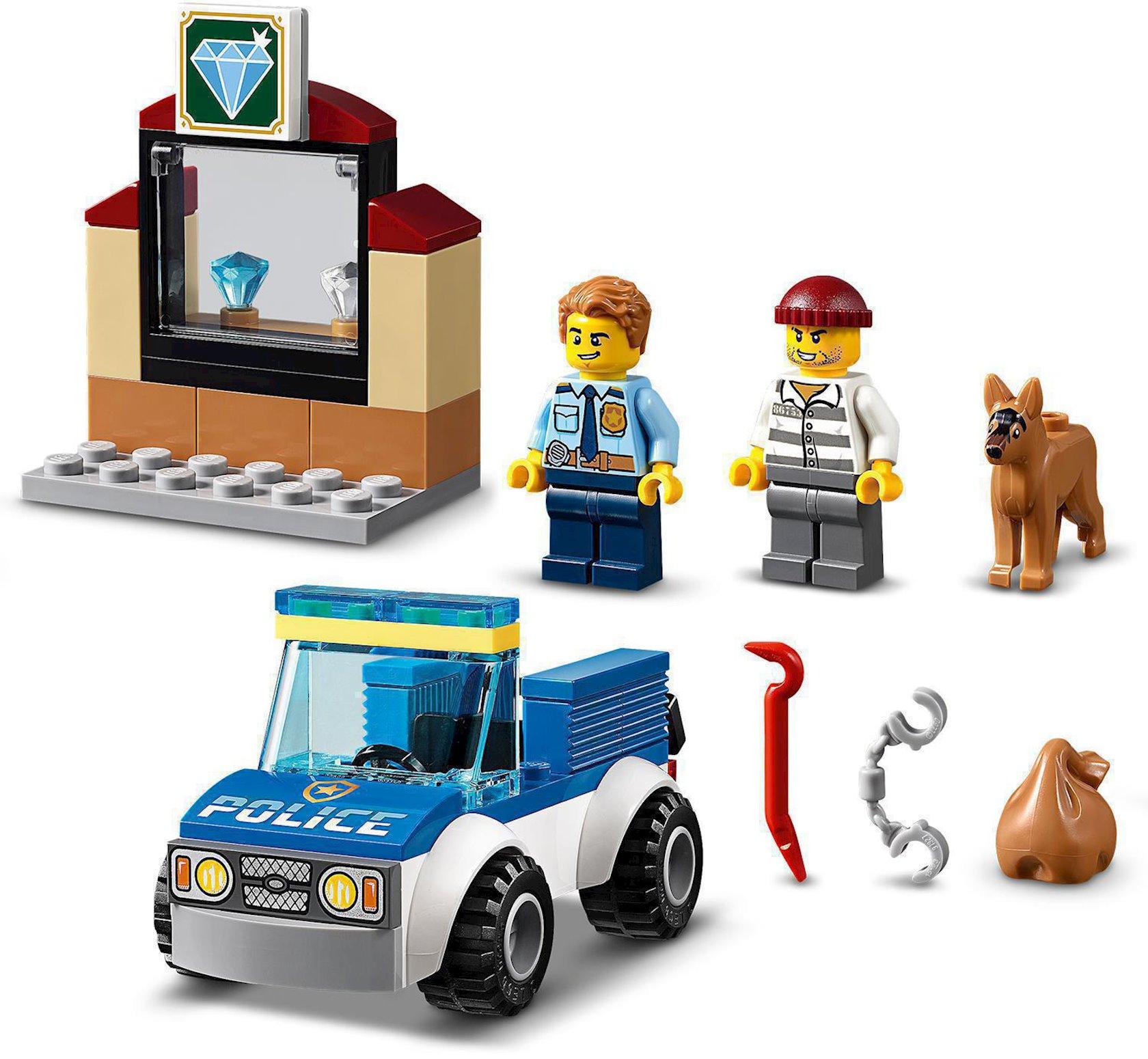 Konstruktor Lego City Polis dəstəsi it ilə