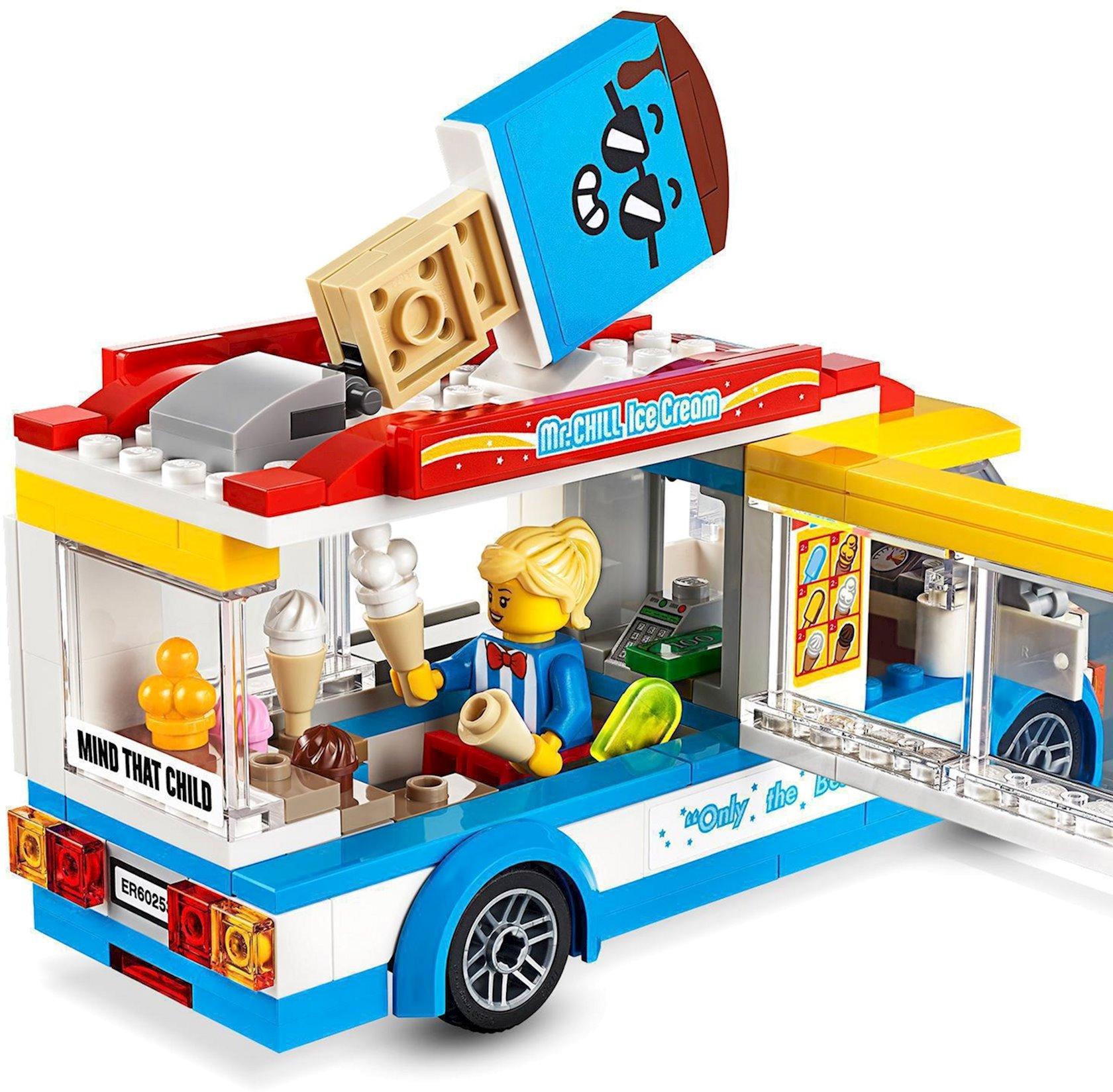 Konstruktor Lego City Dondurma maşını