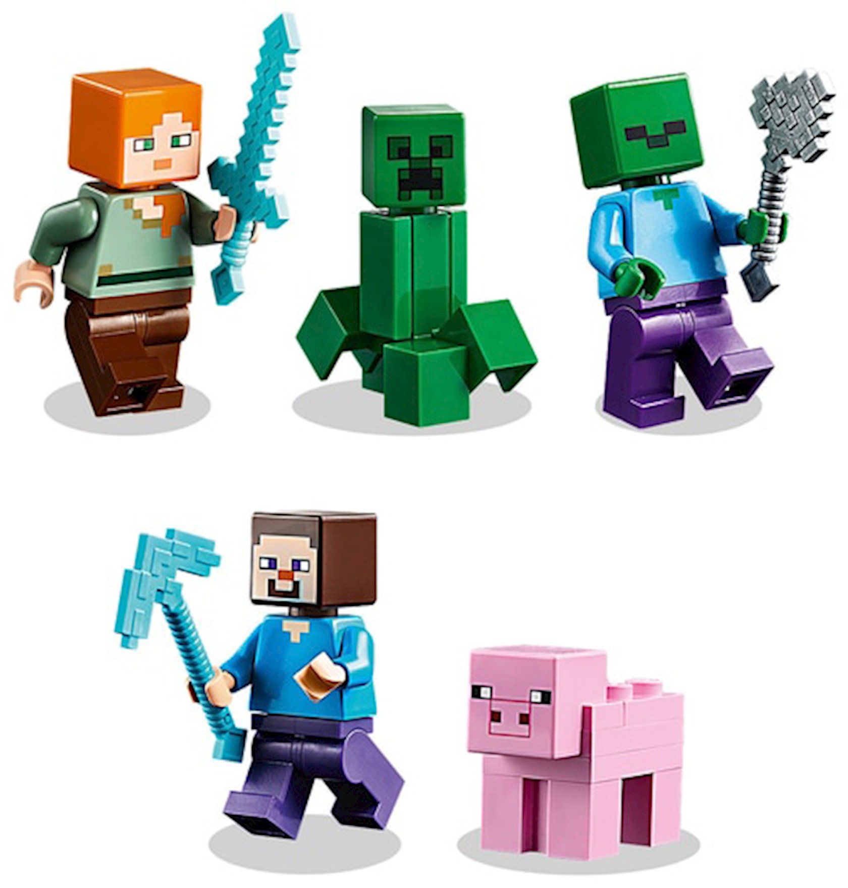 Konstruktor Lego Minecraft Verstak (The Crafting Box) 3.0