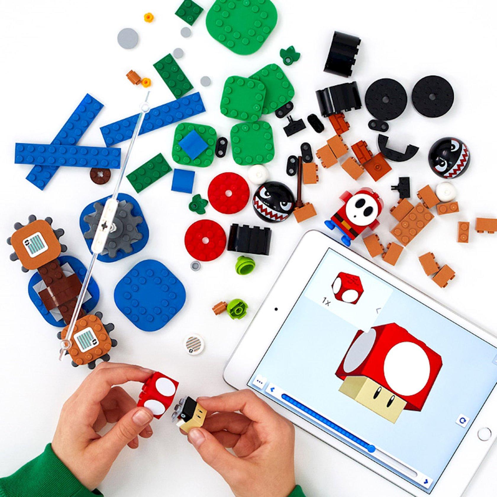 Konstruktor Lego Super Mario Bila-banzayın yanğın basqını