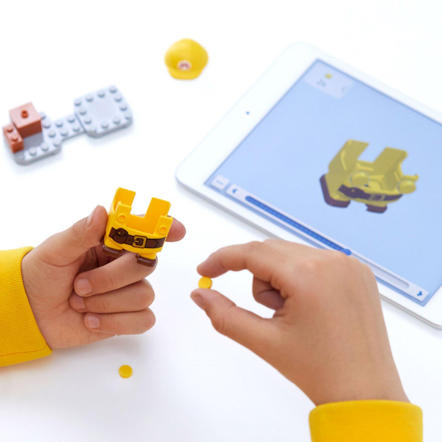 Konstruktor Lego Super Mario Mario-inşaatçı