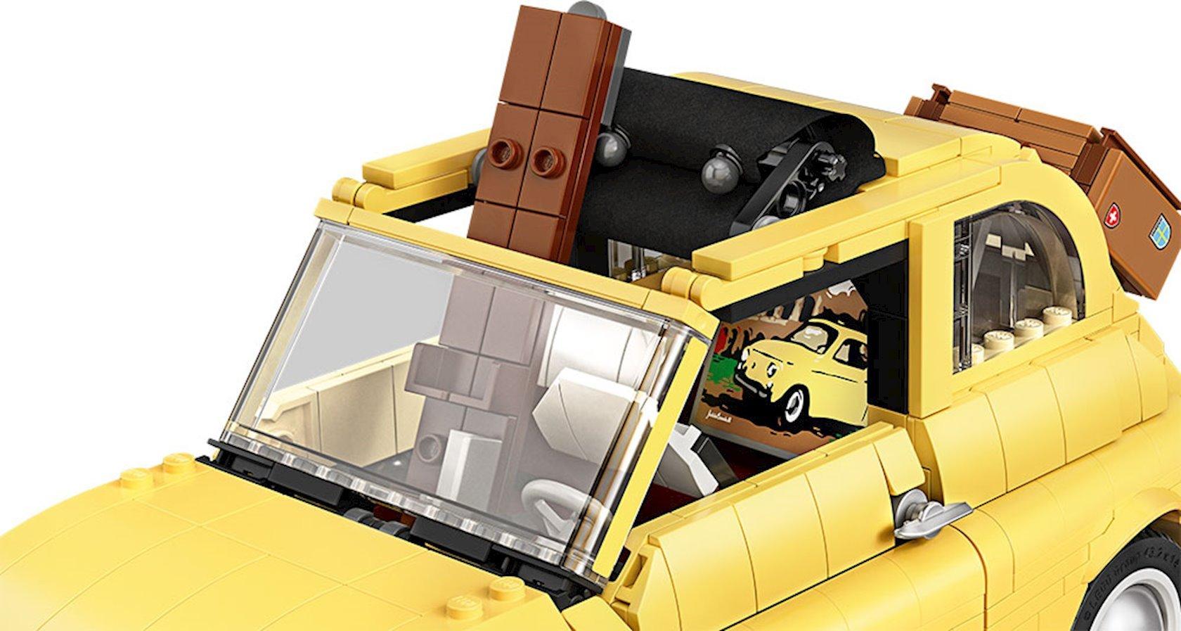 Konstruktor Lego Creator Fiat 500