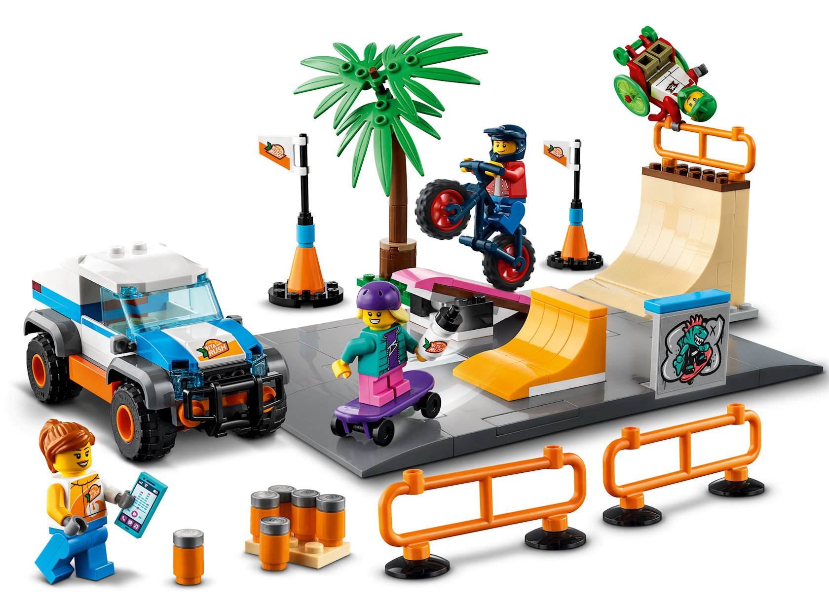 Konstruktor Lego City Skeyt-park