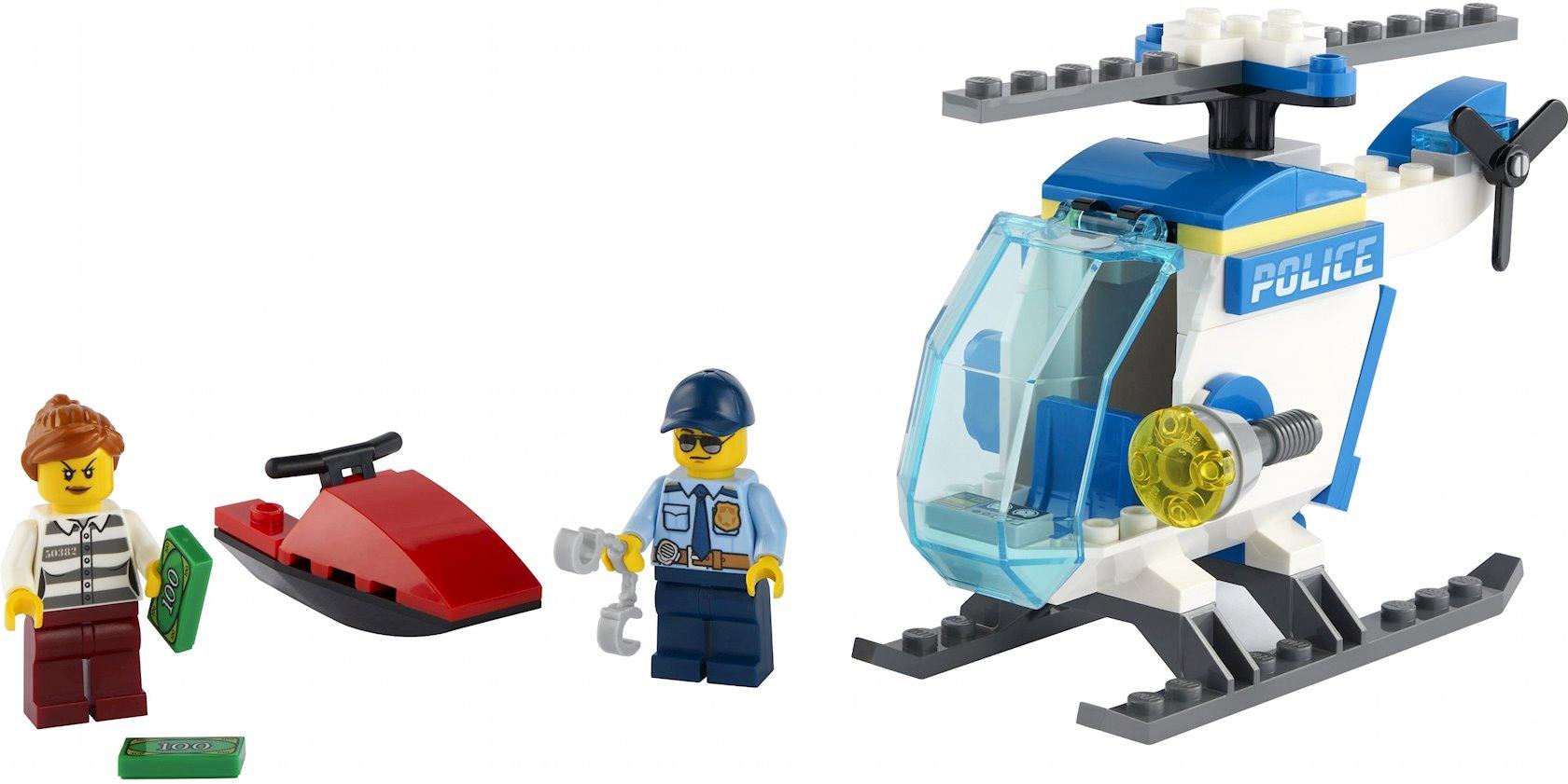 Konstruktor Lego City Polis vertolyotu