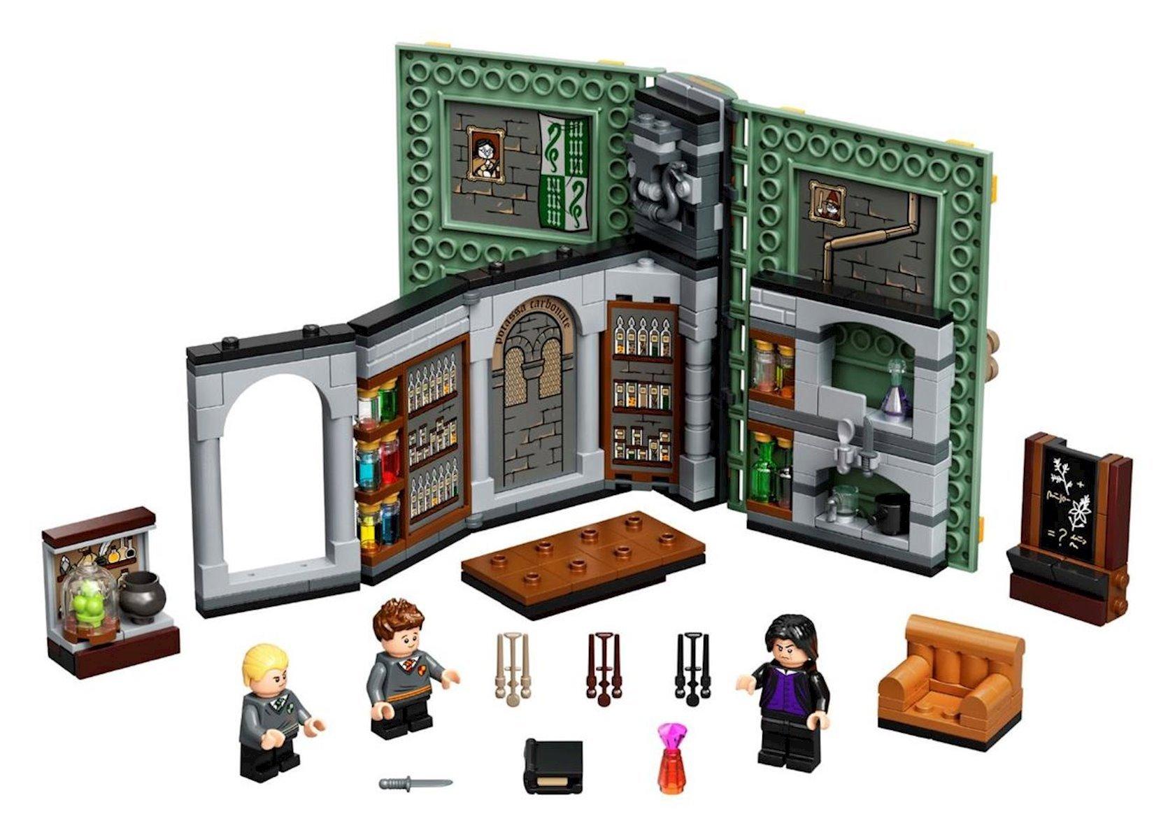 """Konstruktor Lego Harry Potter """"Учеба в Хогвартсе: Урок зельеварения"""""""