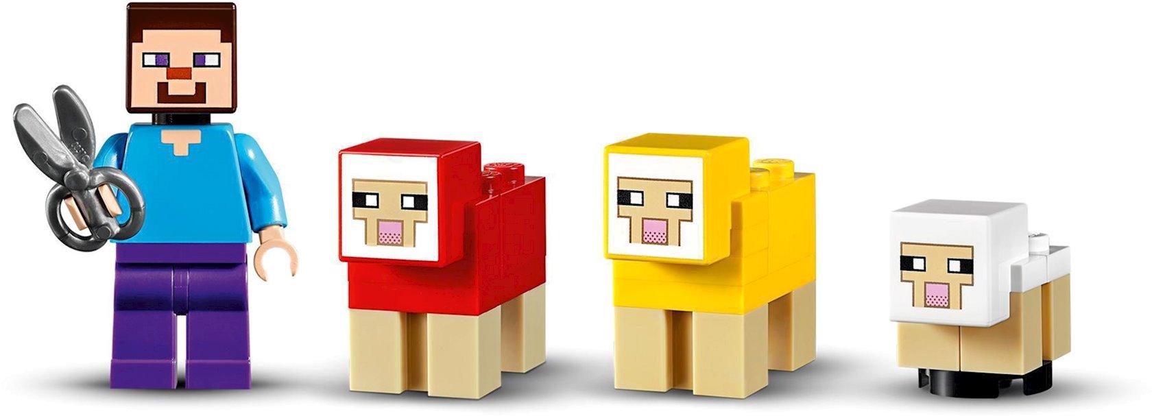 Konstruktor Lego Minecraft Yun təsərrüfatı