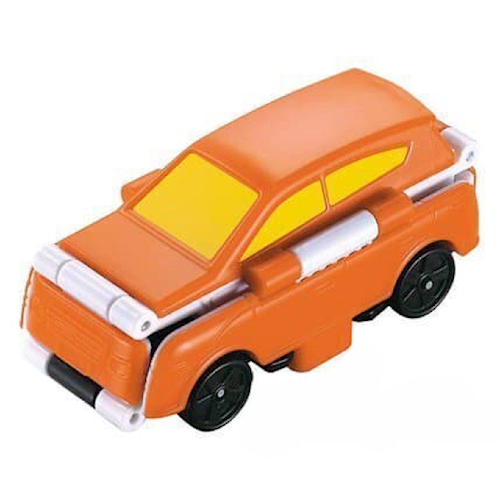 Maşın-transformer TransRacers Ambulance & SUV, 3+ yaş, plastik, ağ/qırmızı