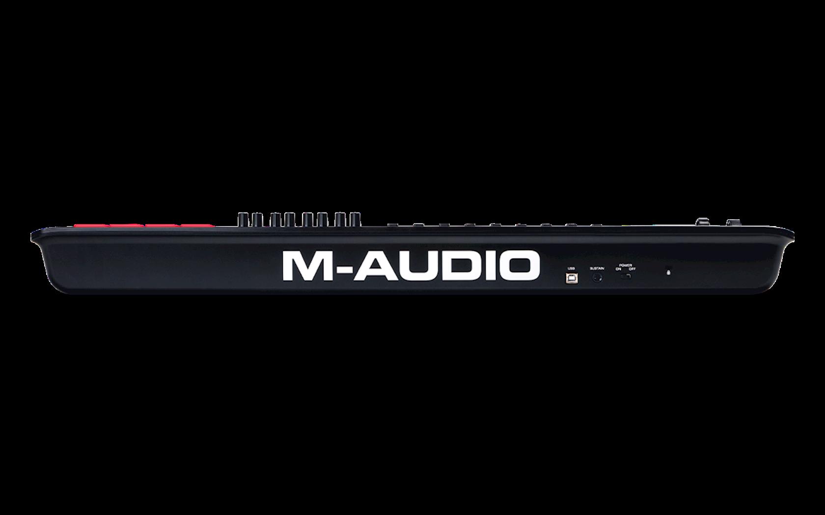Midi-kontroller M-Audio Oxygen 49 MK5, 25 klaviş, 2.9 kq, ağ/qara, 814x243x94 mm