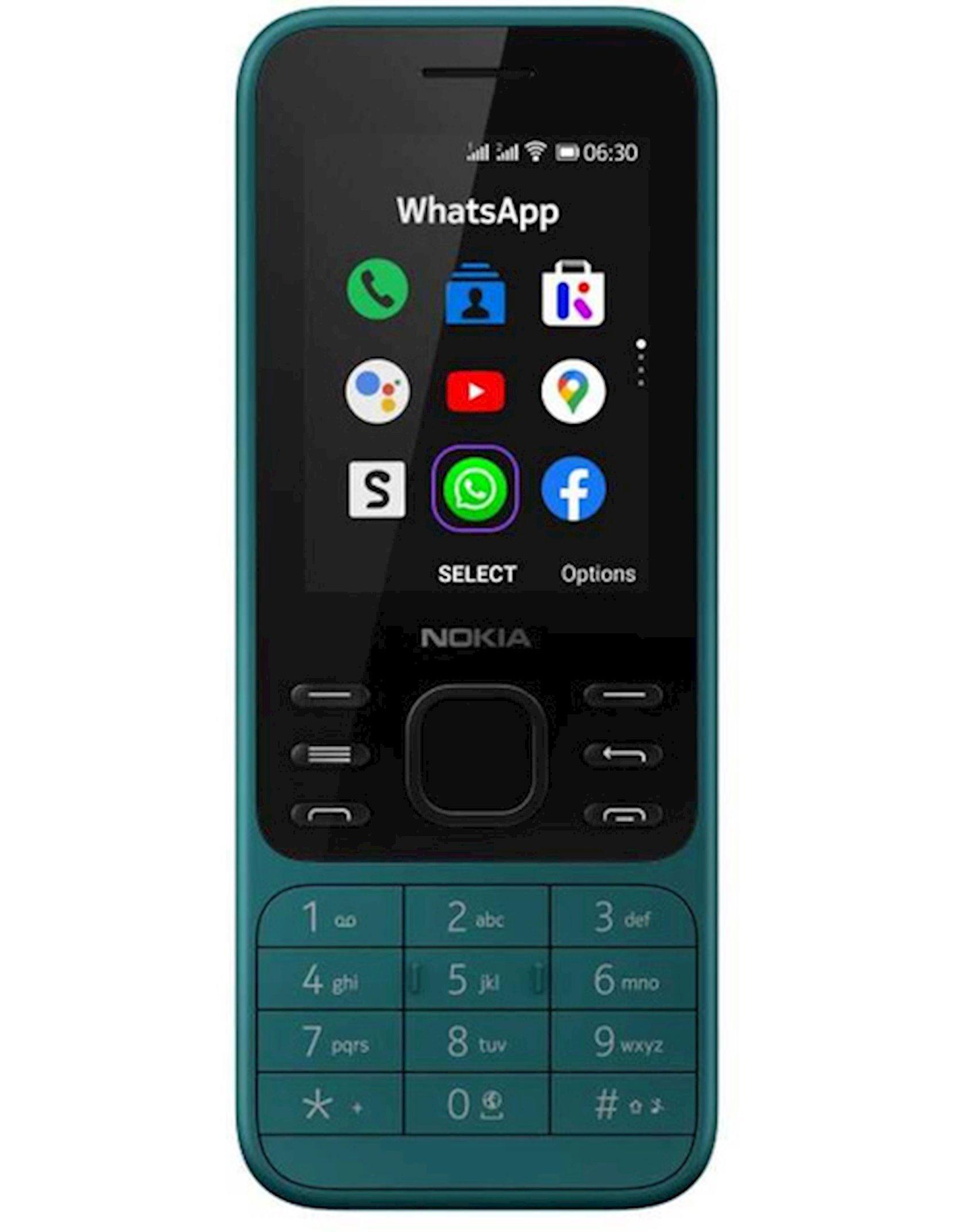 Mobil telefon Nokia 6300 DS 4G Cyan