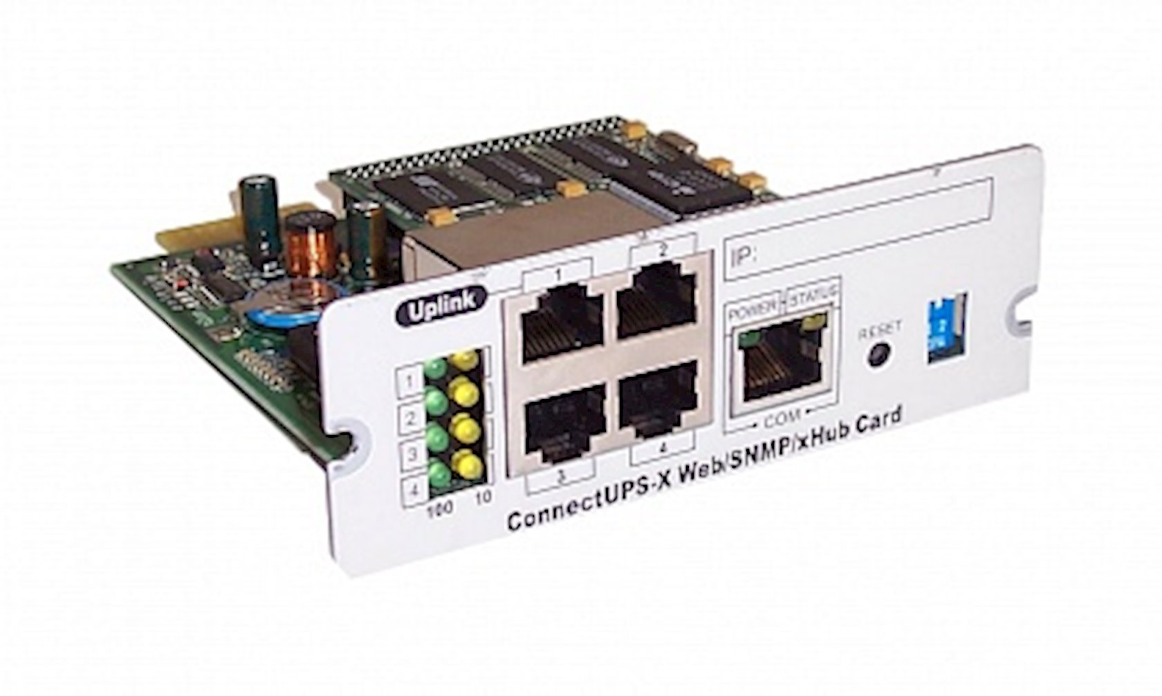 Şəbəkə kartı  Eaton Connect UPS-X Web/SNMP/xHub Card 39J4824