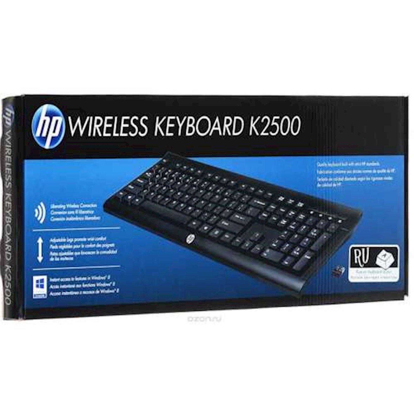 Simsiz klaviatura HP K2500 E5E78AA