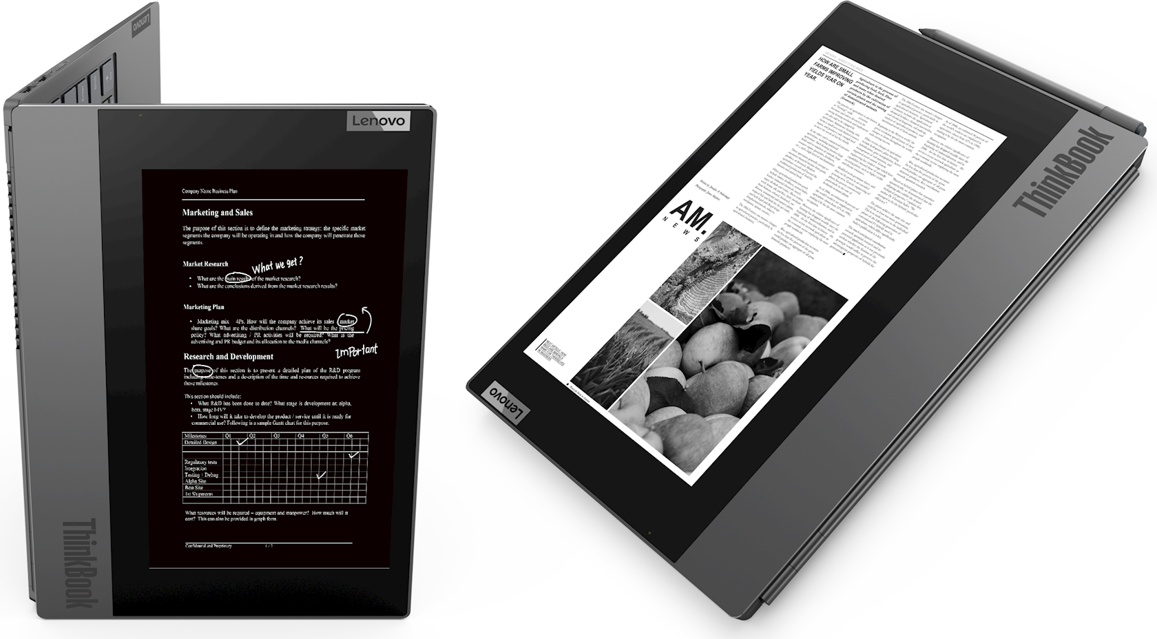 Noutbuk Lenovo ThinkBook PLUS/ Dual Screen