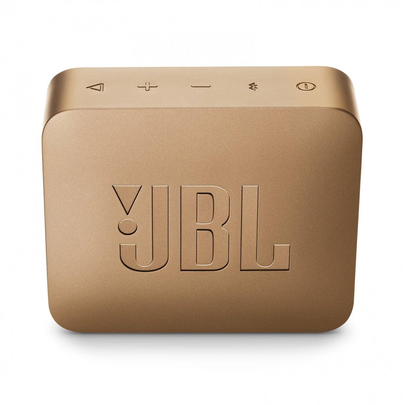Portativ dinamik  JBL Go 2 Champange