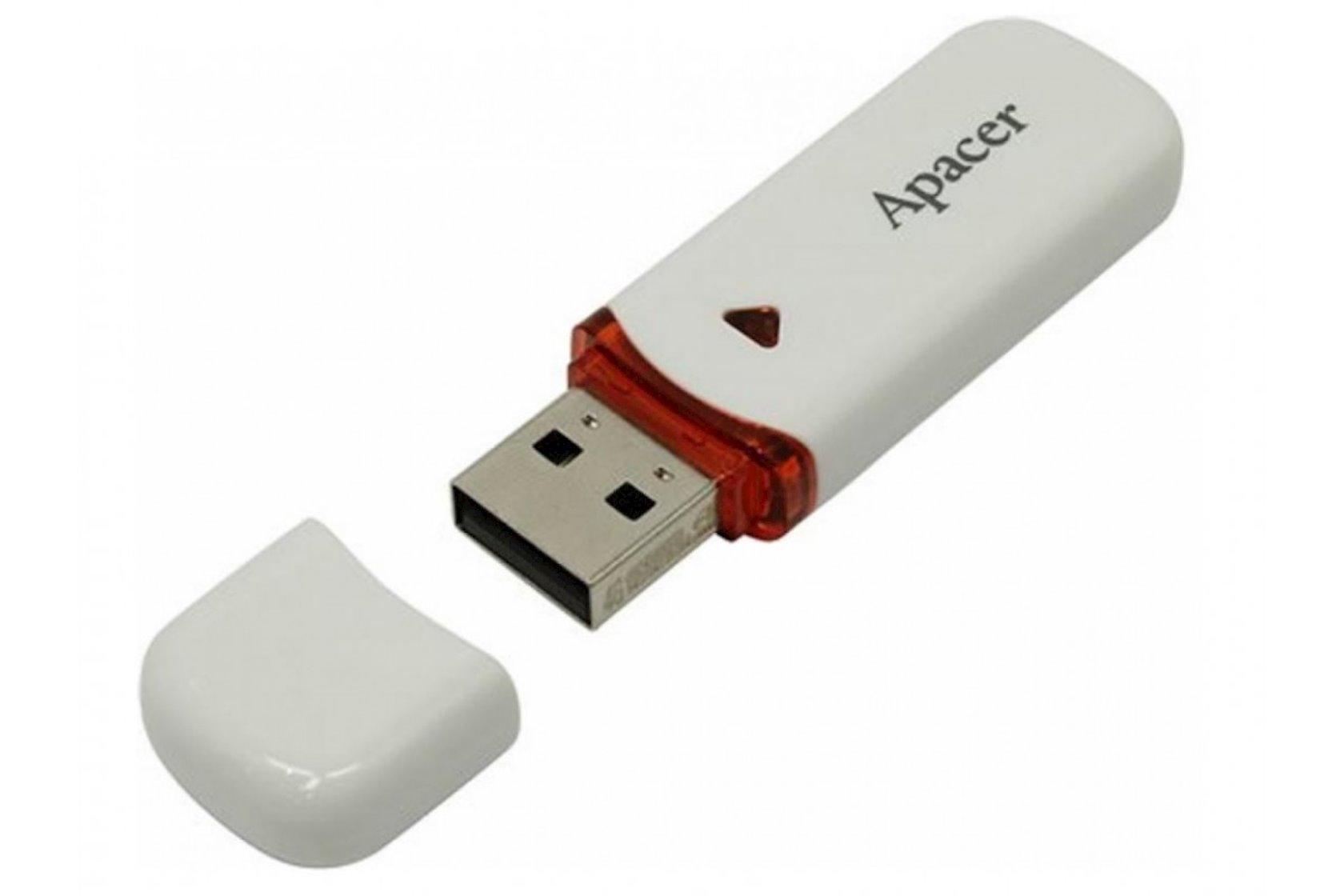 Fləş kart Apacer USB 2.0 AH333 White 32 Gb