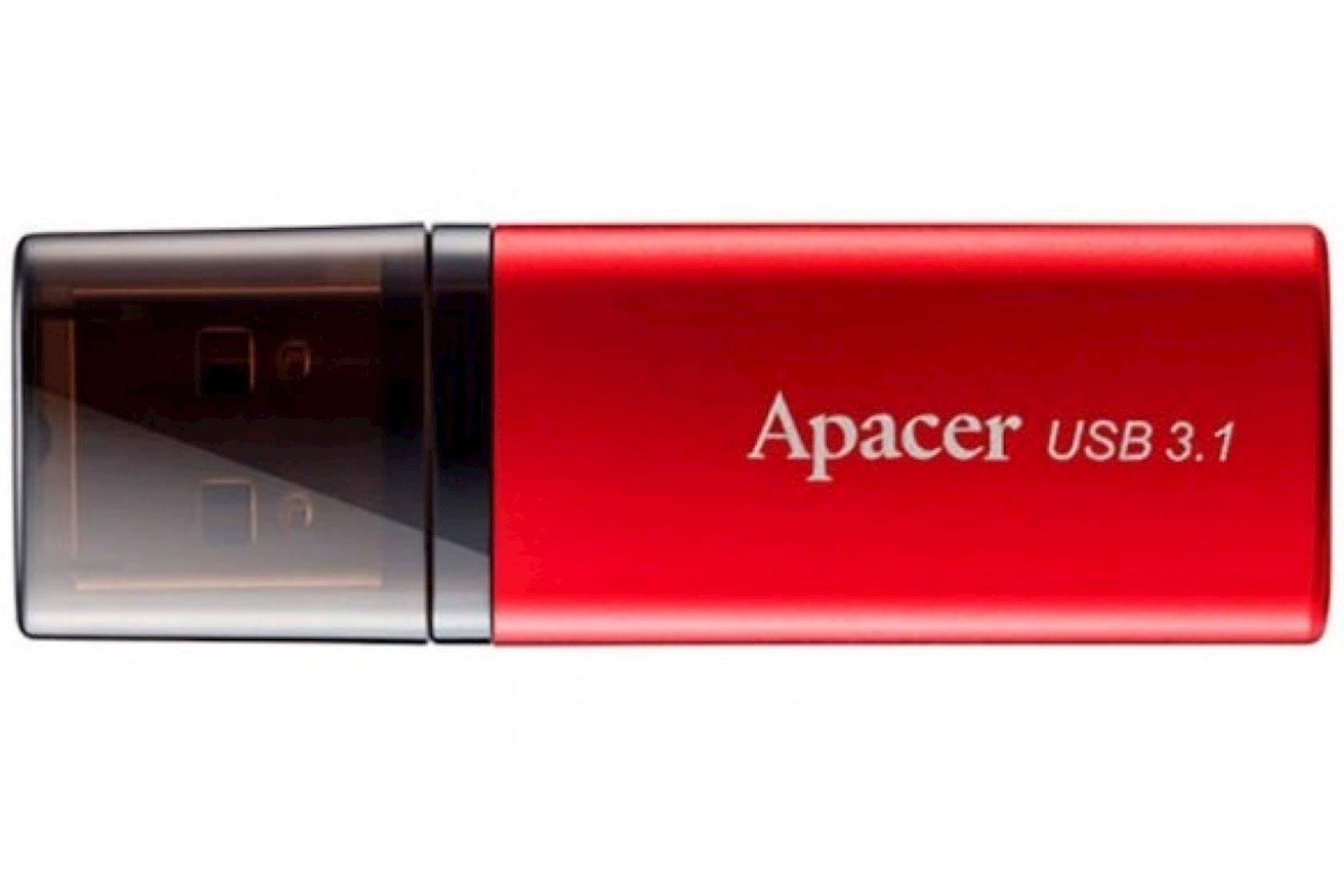 Fləş kart Apacer USB 3.1 Gen1 AH25B Red 32 Gb