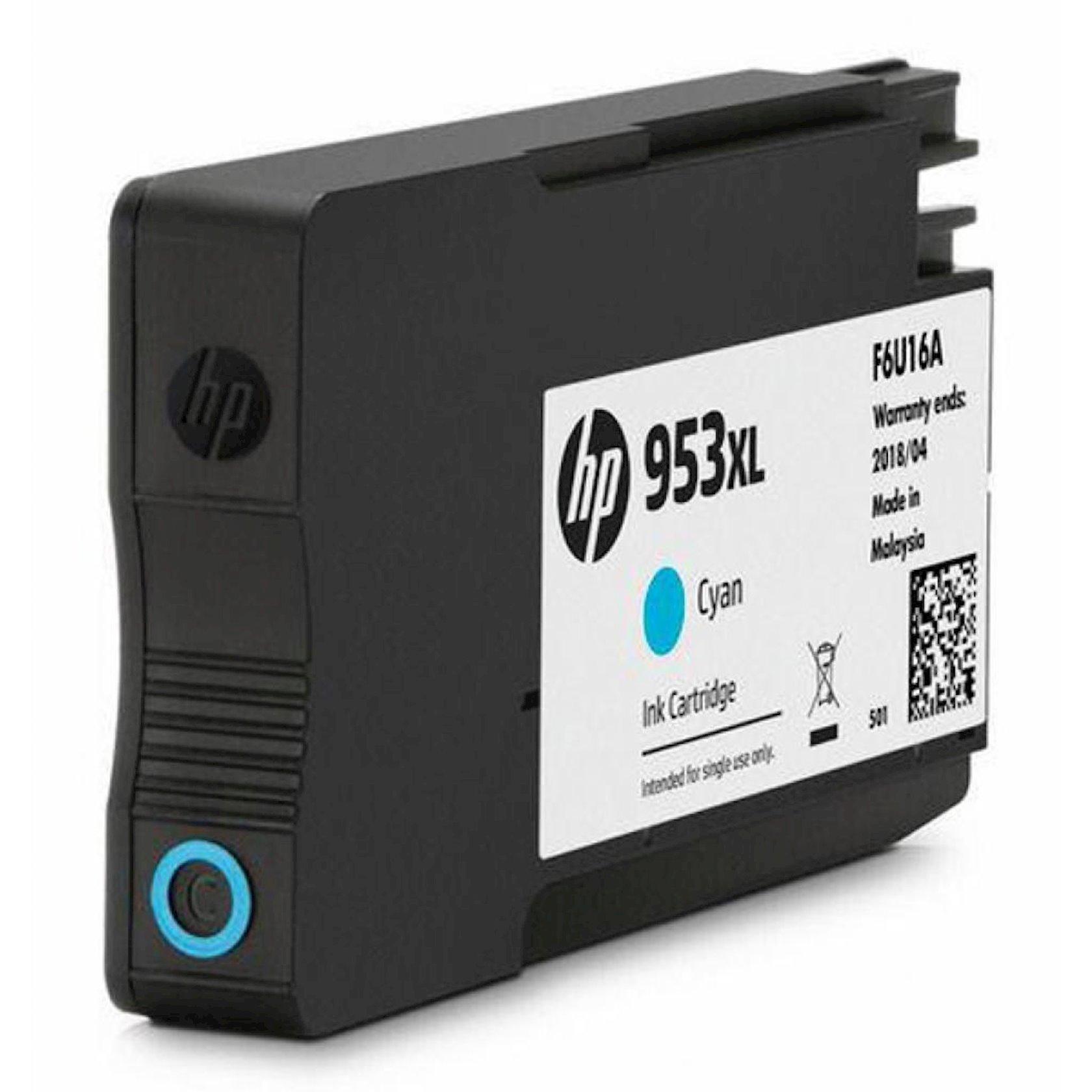 Kartric HP 953XL F6U16AE Mavi