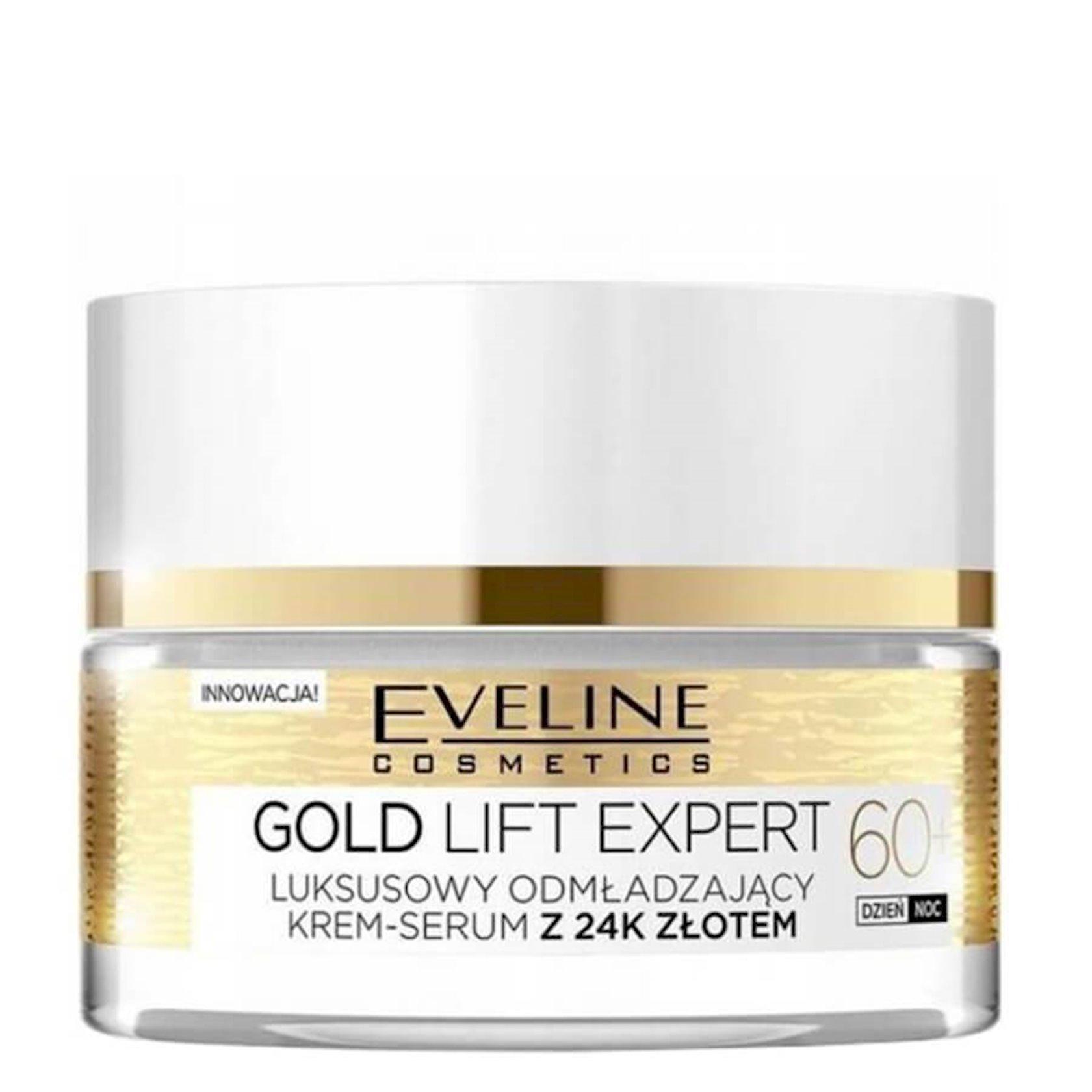 Multi-qidalandırıcı krem 60+ Eveline Cosmetics Gold Lift Expert 60+