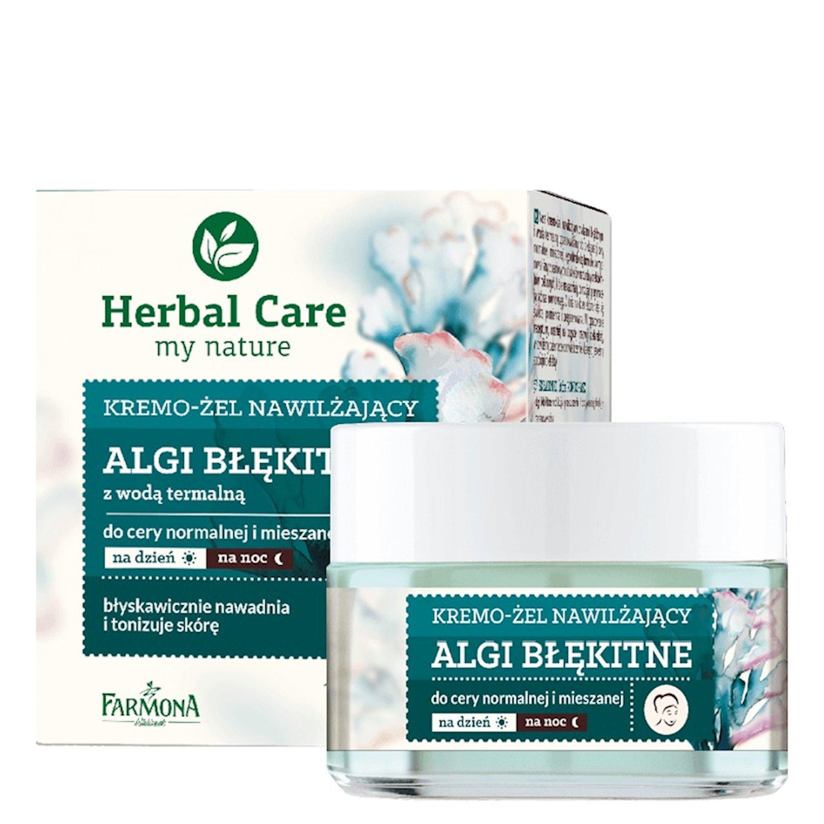Nəmləndirici üz kremi Farmona Herbal Care Blue Algae Cream