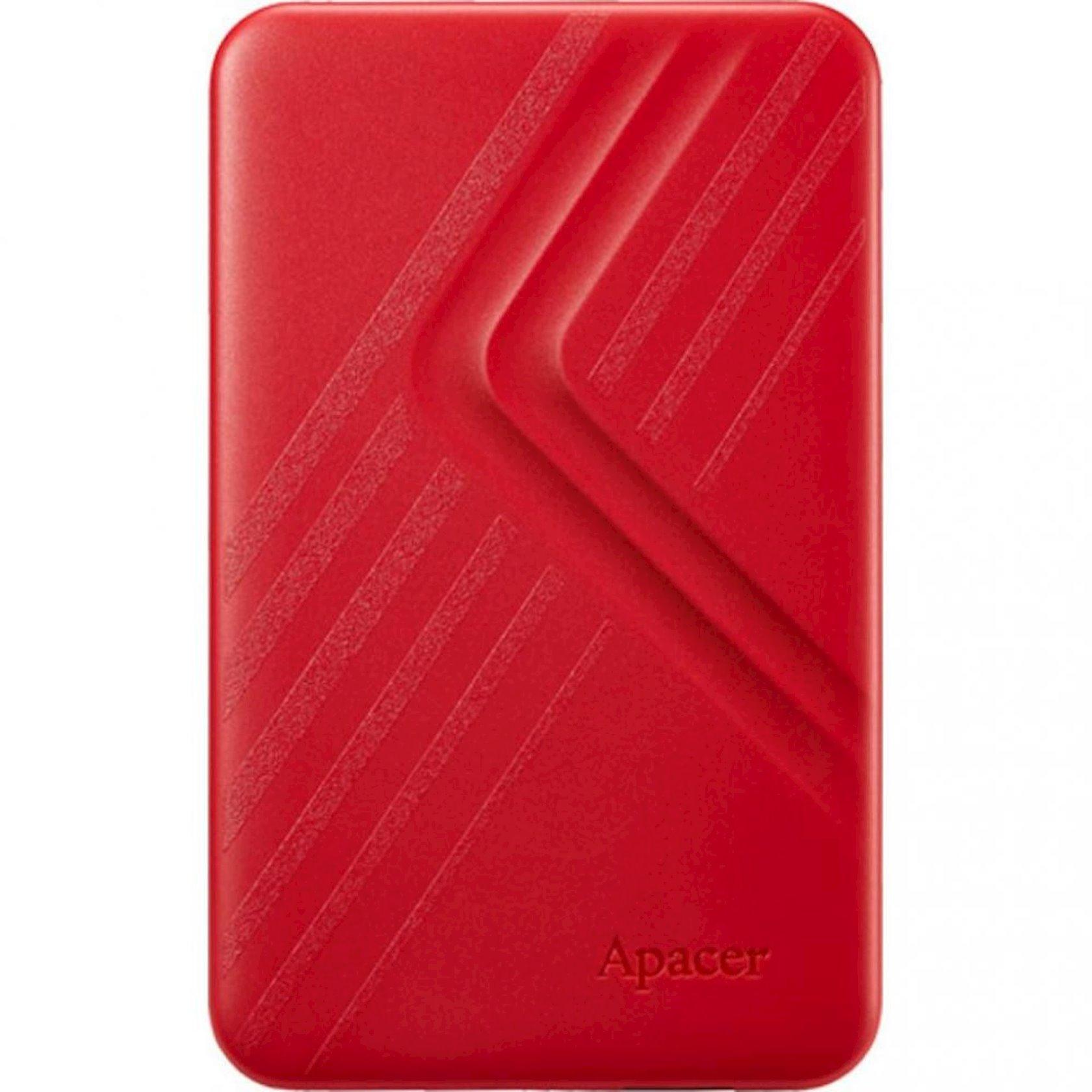Xarici sərt disk Apacer 2 TB USB 3.1 Portable Hard Drive AC236 Red