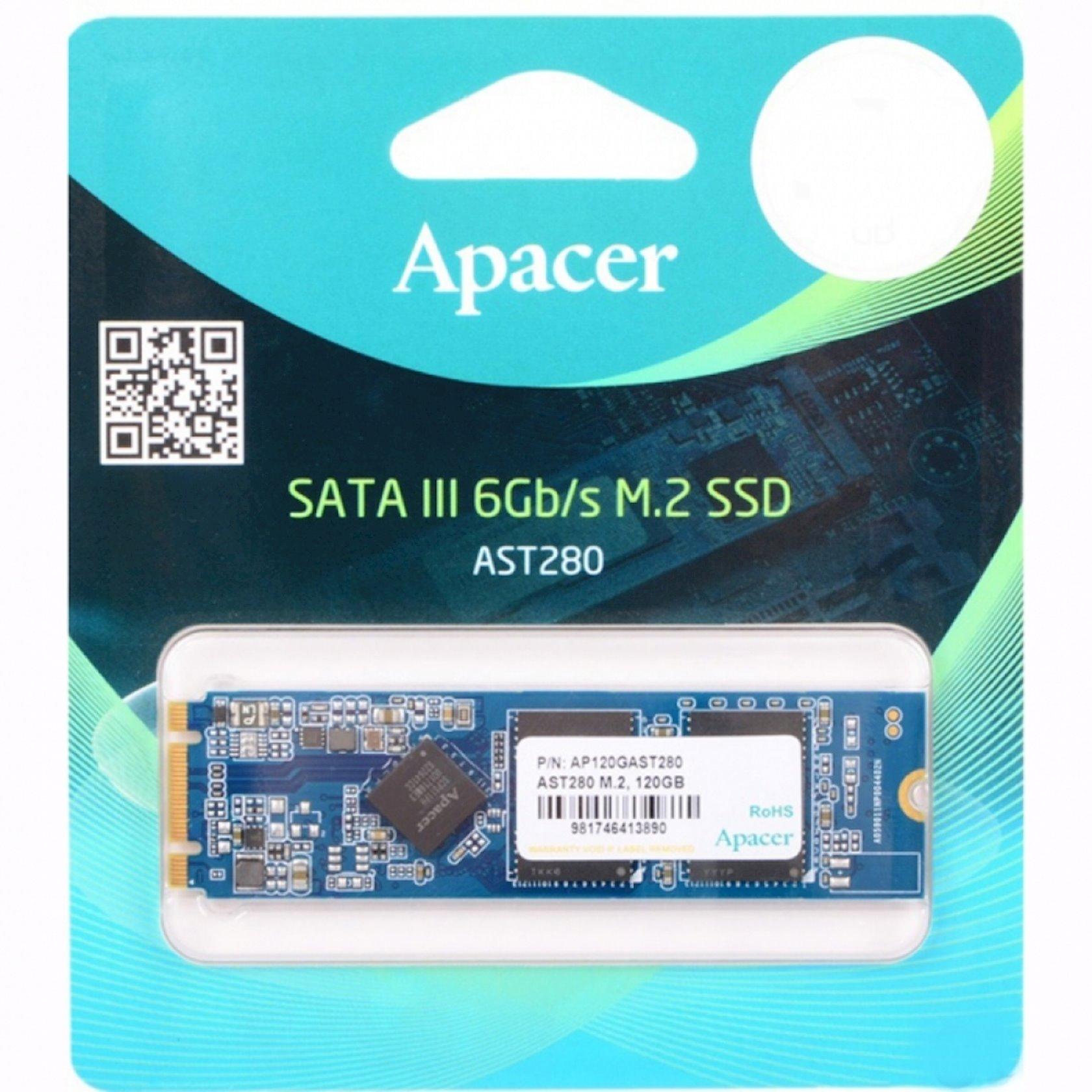 Sərt disk Apacer AST280 120 Gb