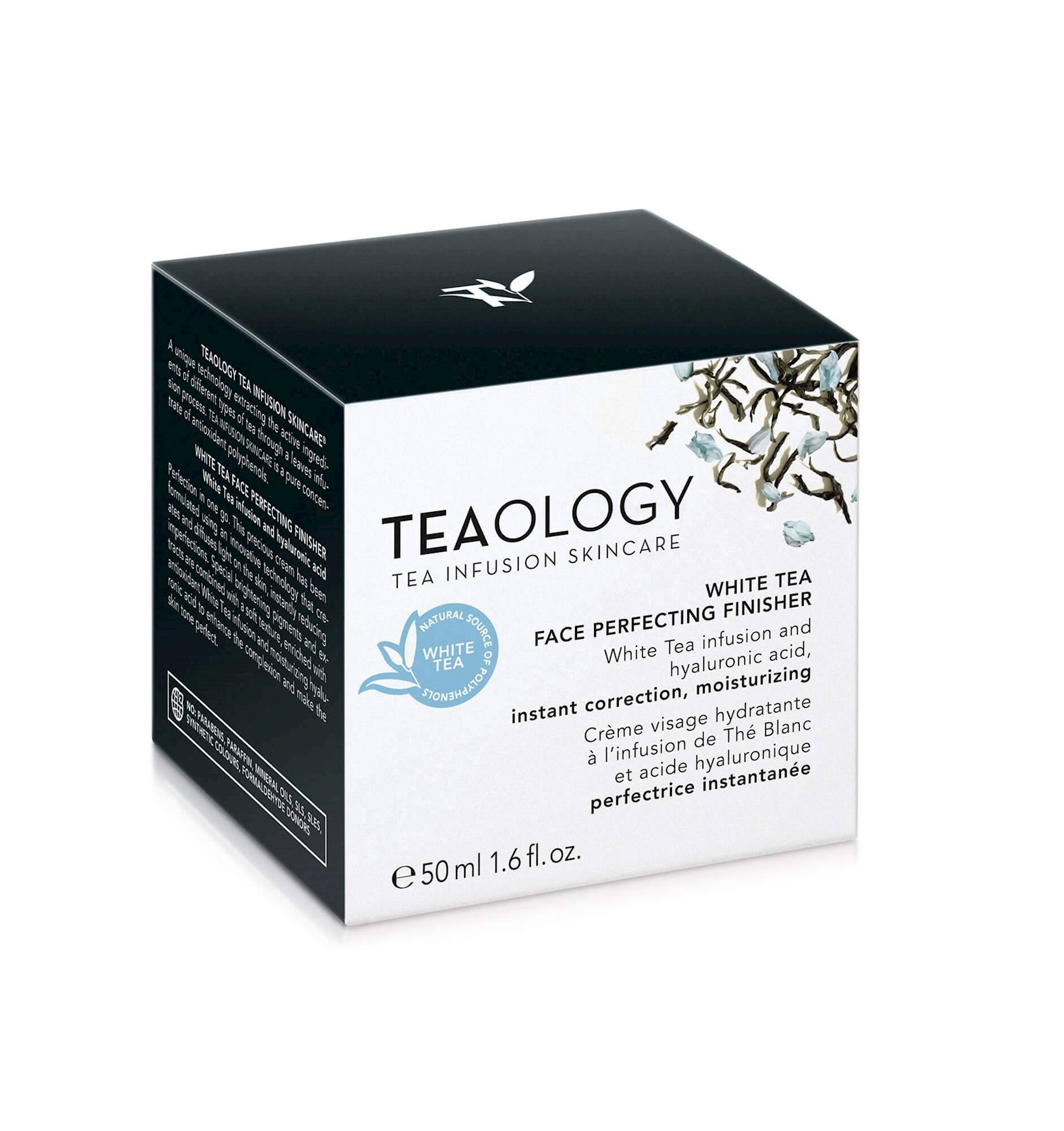 Üz üçün tonlaşdırıcı krem Teaology White Tea 50 ml