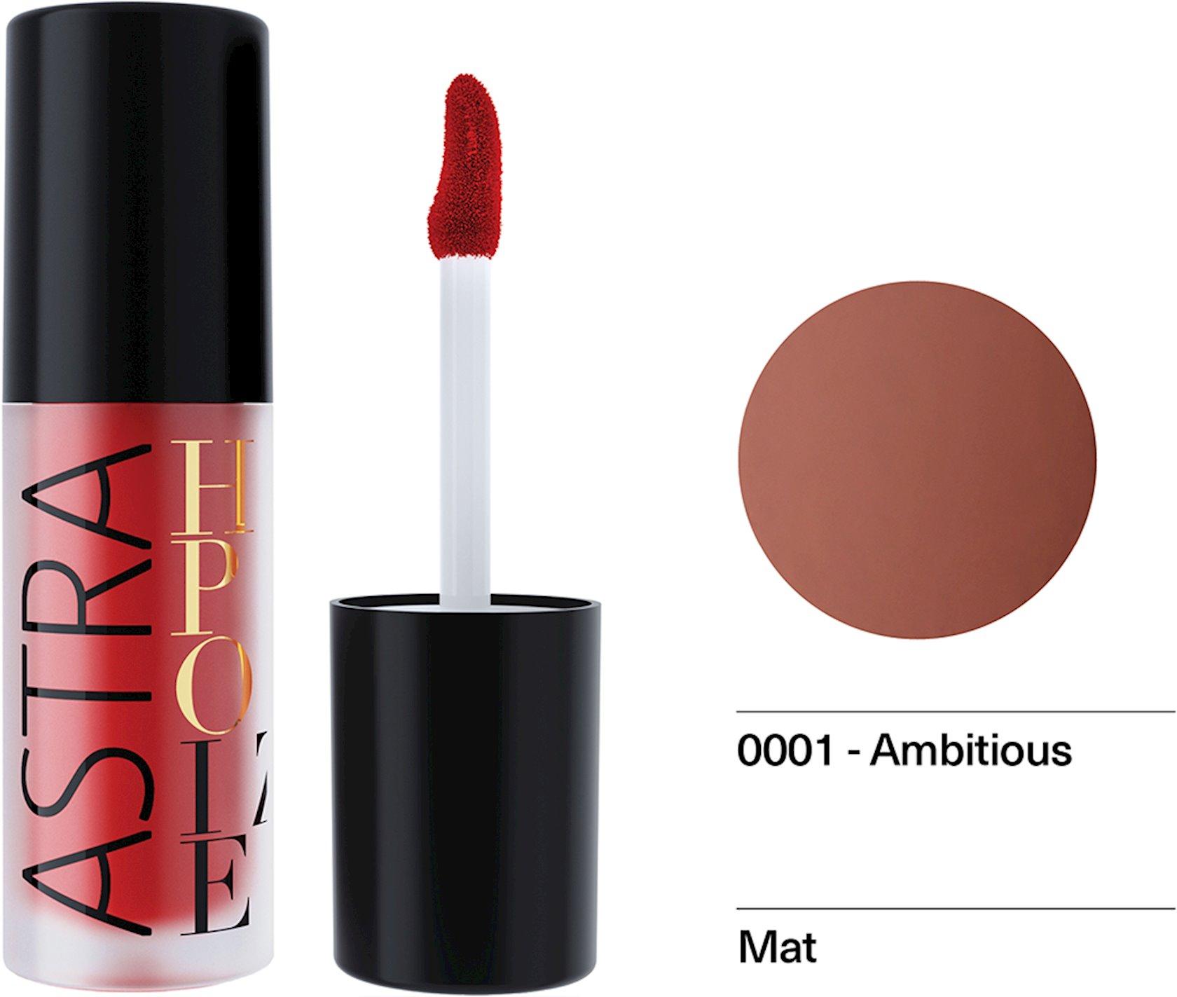 Maye pomada Astra Make-up Hypnotize Liquid Lipstick 01 Ambitious 4 ml