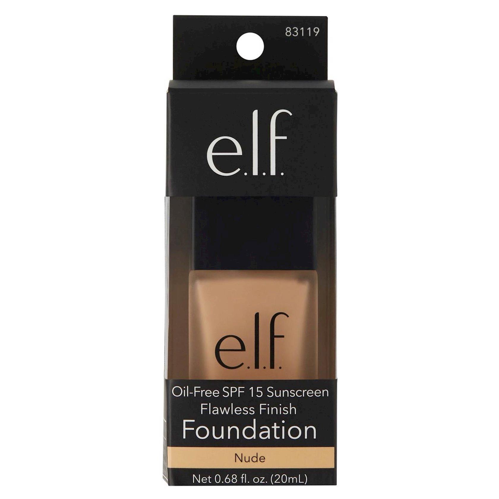 Tonal krem E.L.F. Flawless Finish Foundation SPF15 Nude 20 ml