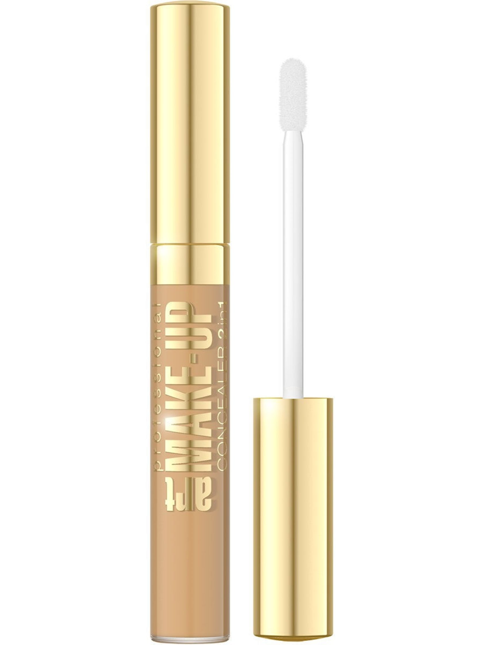 Göz ətrafı üçün korrektor Eveline Art Scenic Professional Make-Up 2 in 1 Nude 7 ml