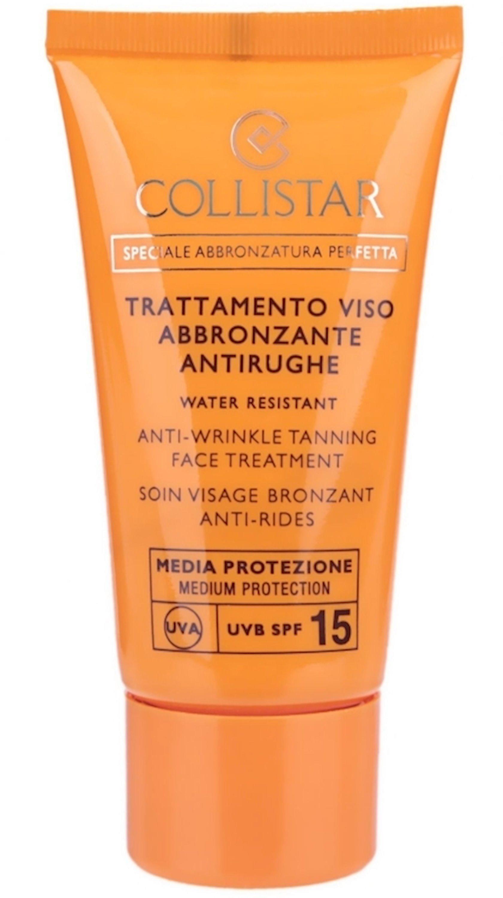 Günəşdən qoruyucu krem qırışlara qarşı Collistar Speciale Abbronztura Perfetta Anti-Wrinkle Tanning