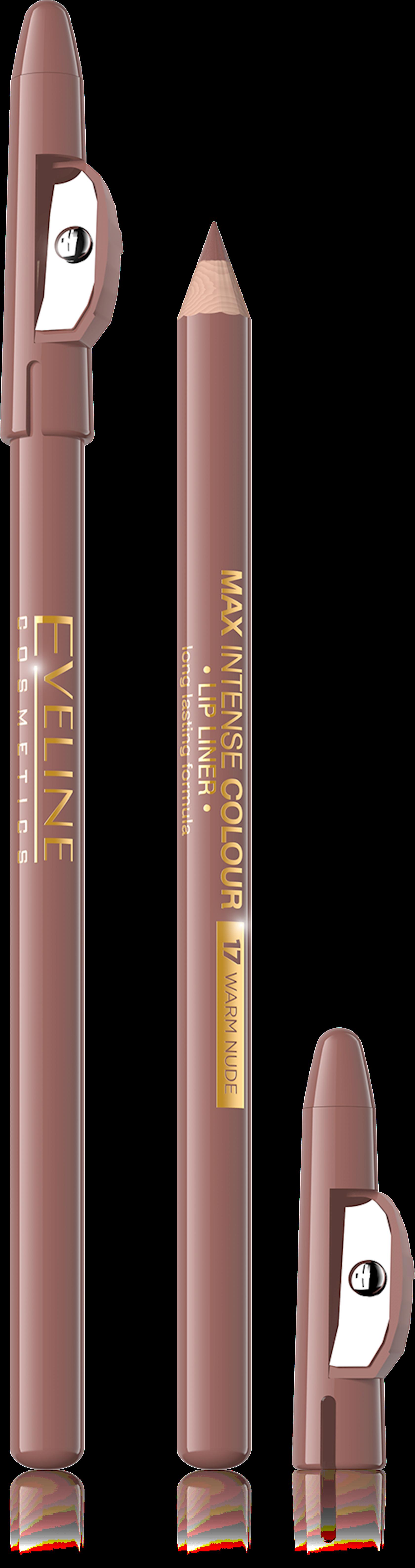 Dodaq layneri Eveline cosmetics Max intense colour 14 Nude