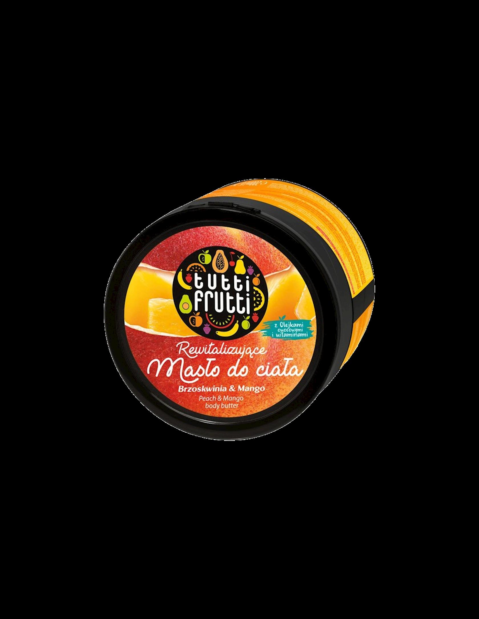 Yağ bədən üçün Farmona Tutti Frutti Şaftalı və Manqo 200 ml