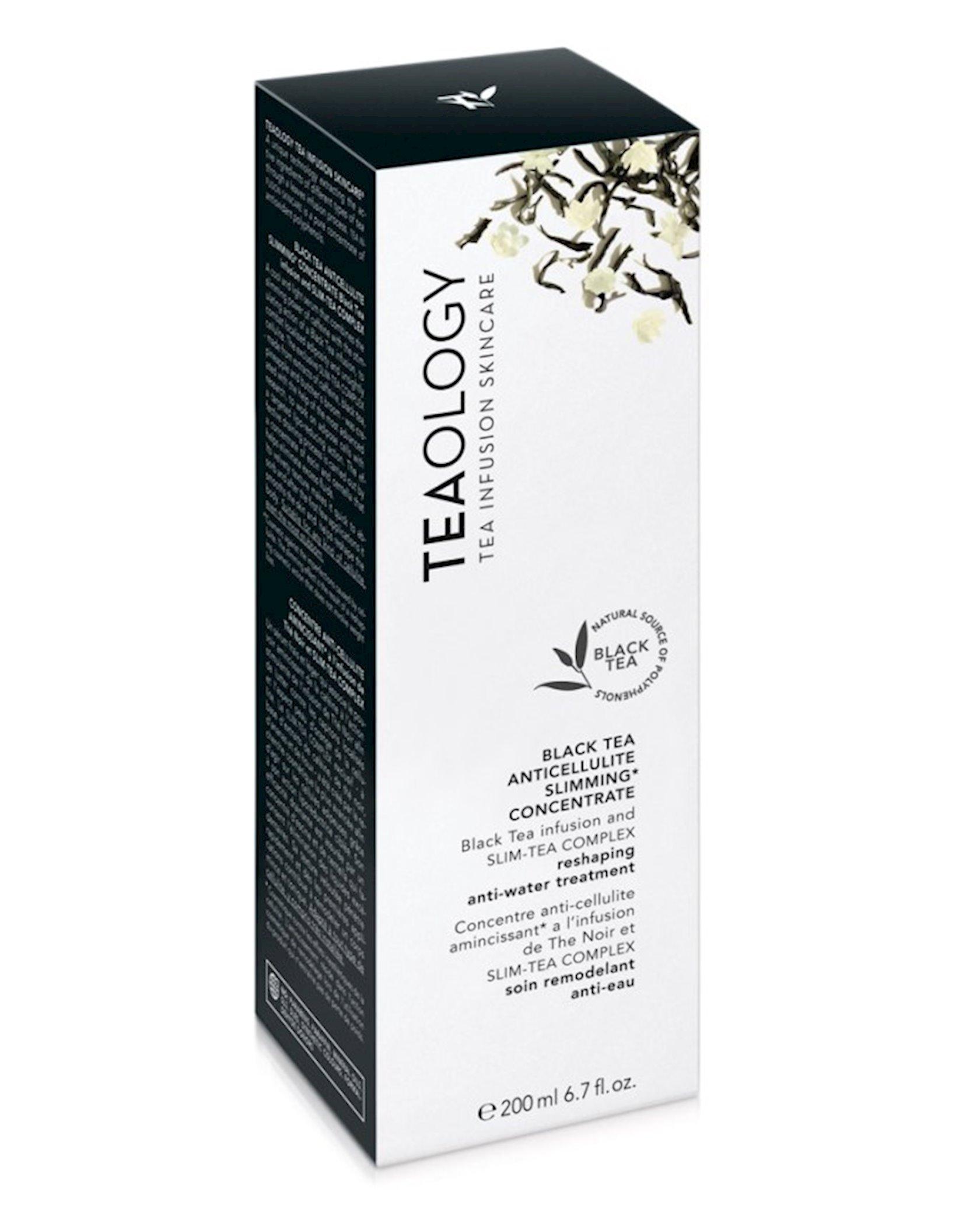 Bədən üçün konsetrat Teaology Anticellulite Black Tea 50 ml