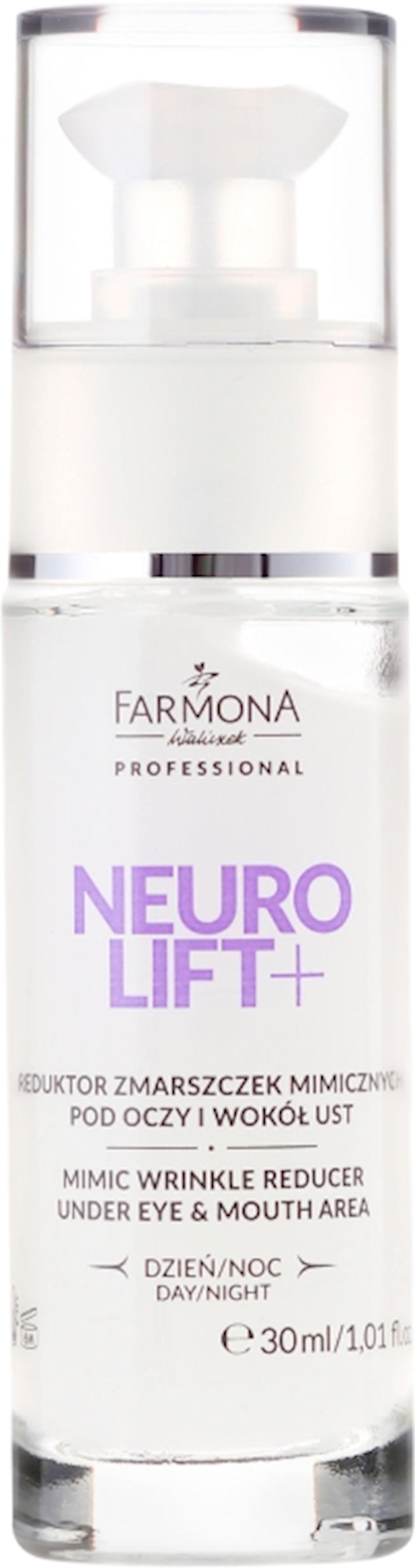 Göz qapağı kremi Farmona Neuro Lift+ Mimic Wrinkle Reducer